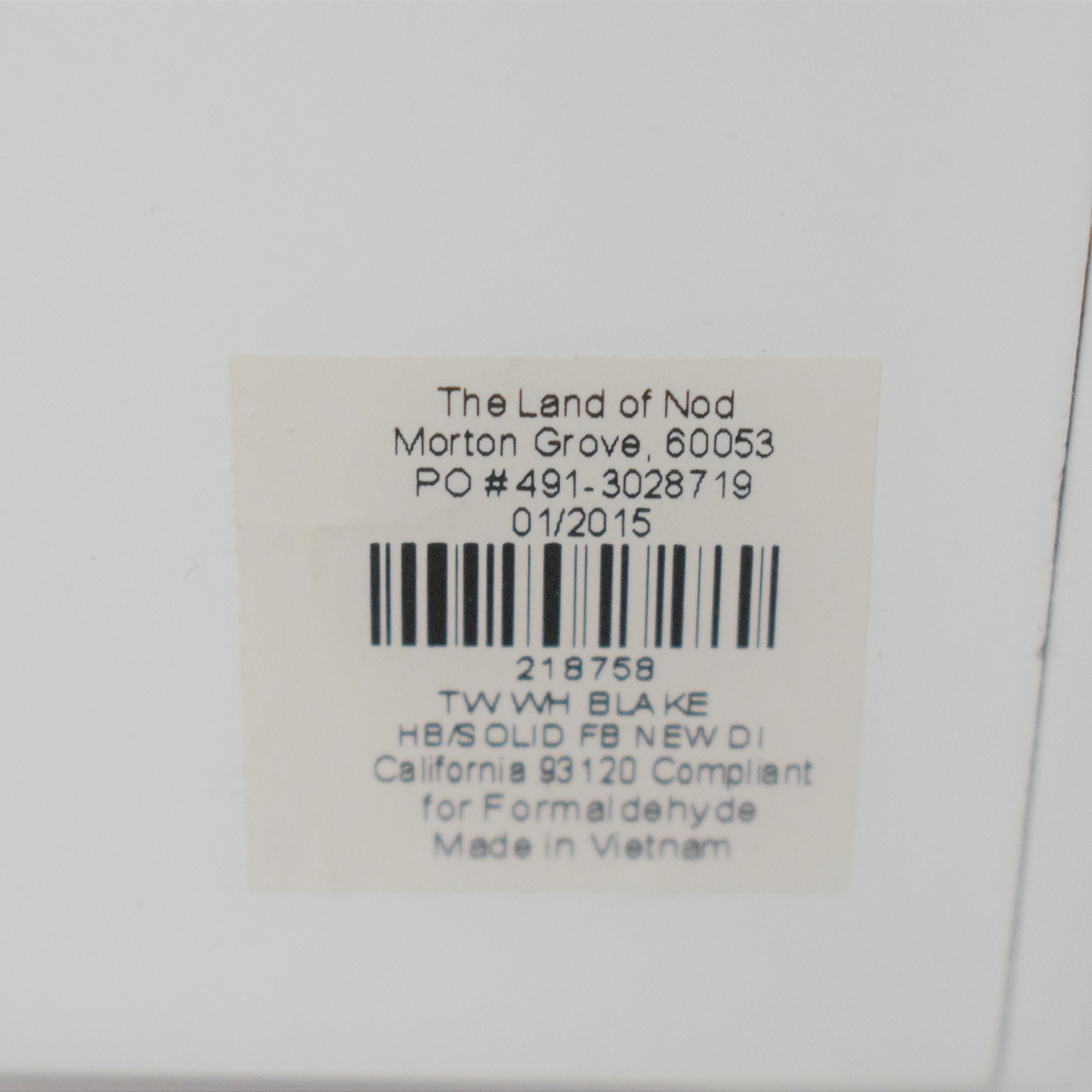 Land of Nod Blake Twin Bed / Beds