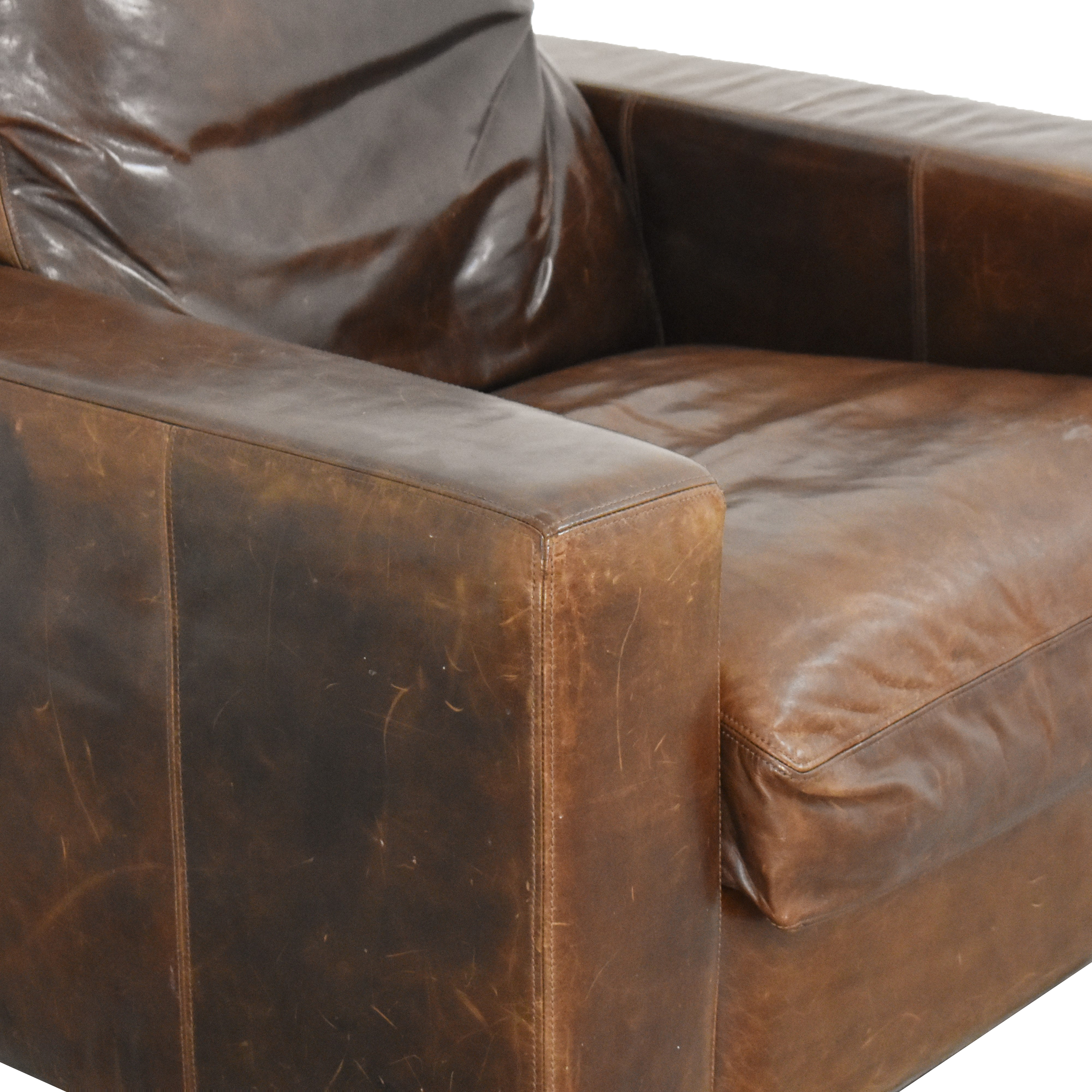 Restoration Hardware Restoration Hardware Maxwell Recliner second hand