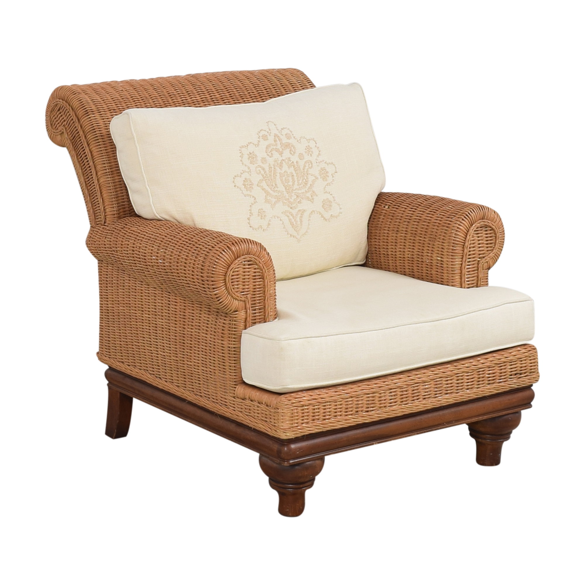 Henry Link Henry Link Roll Arm Lounge Chair pa