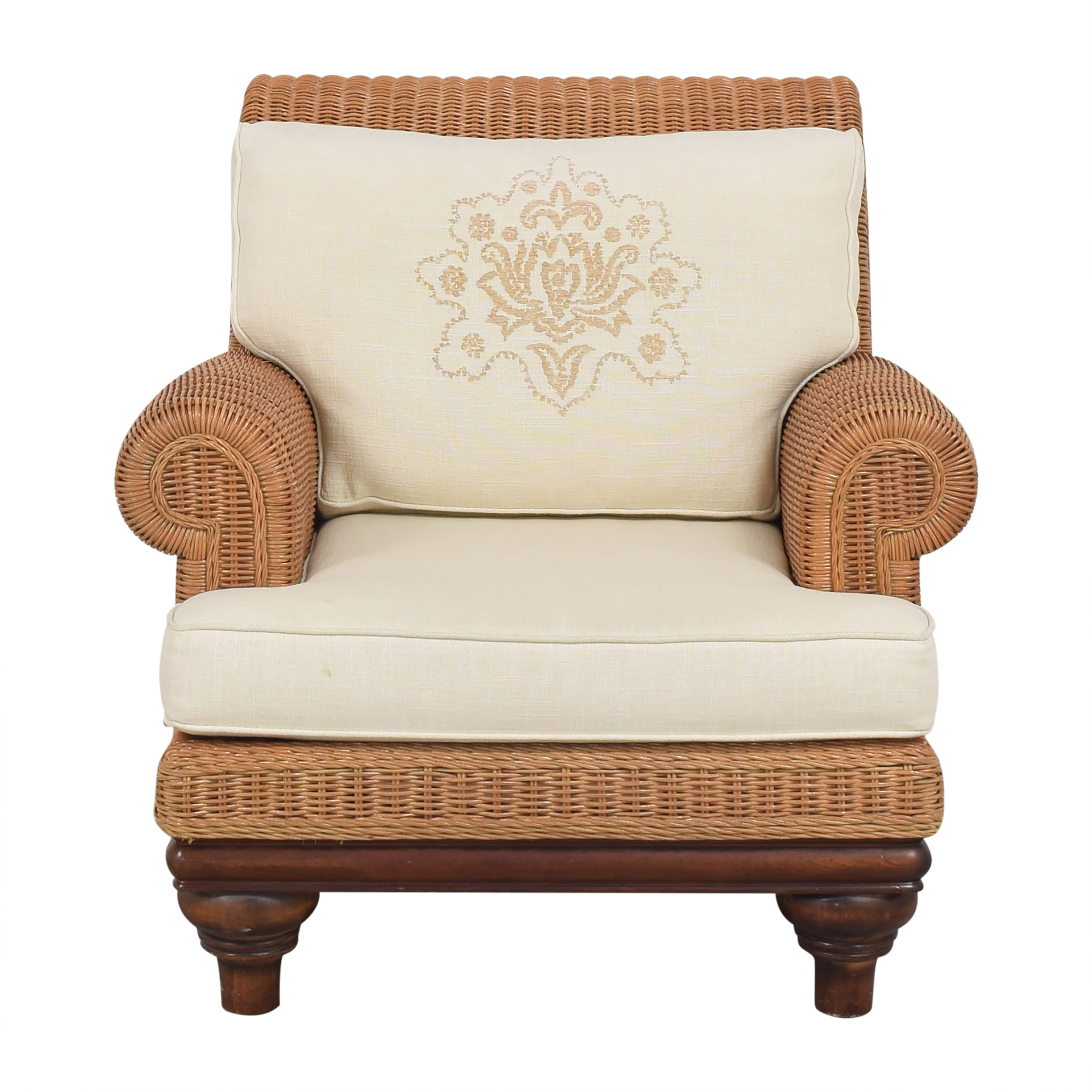 Henry Link Roll Arm Lounge Chair Henry Link