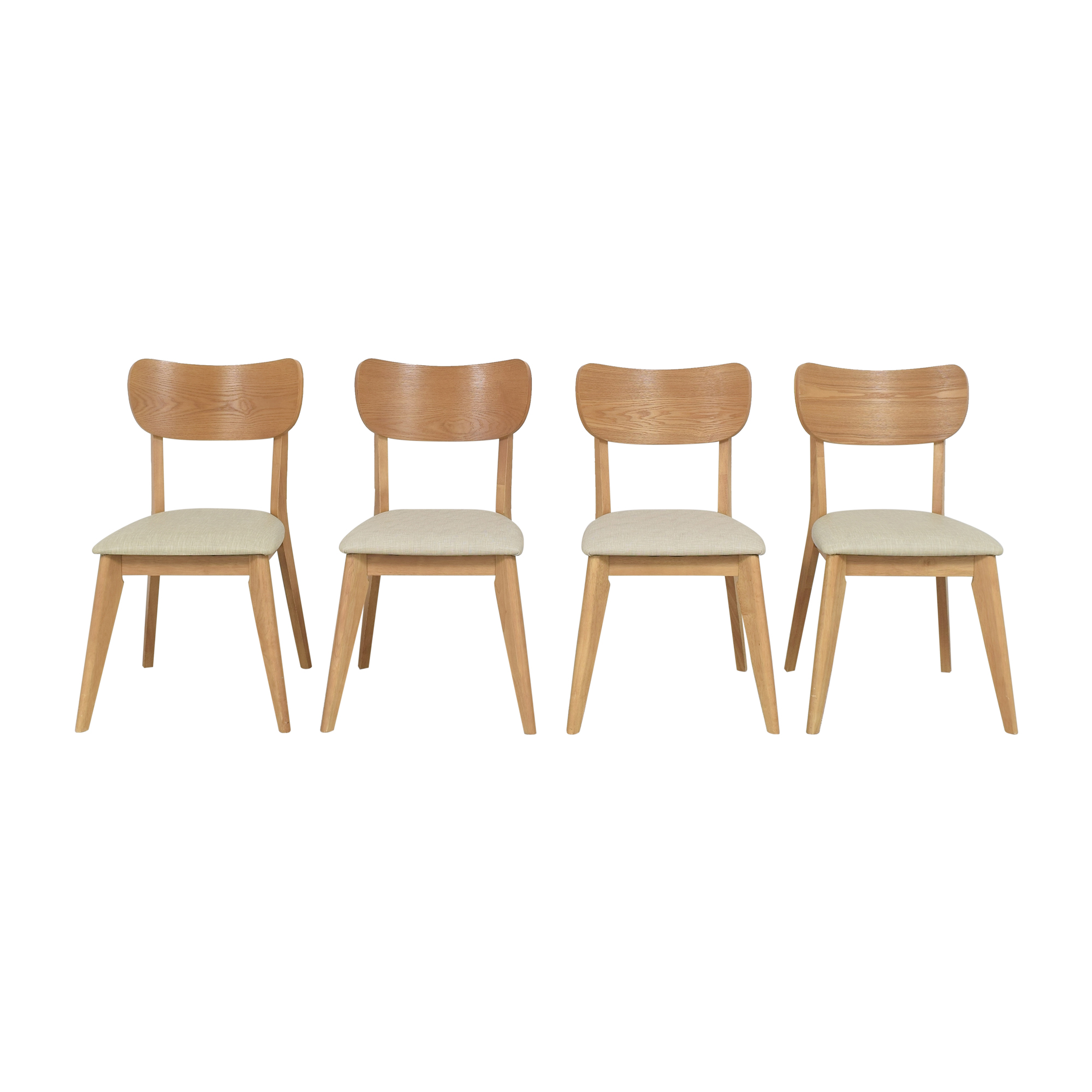 Mid-Century Modern Style Dining Chairs ma