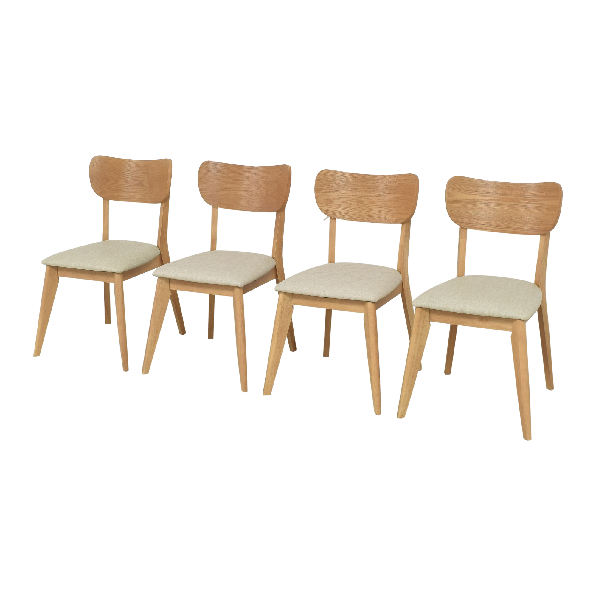 Mid-Century Modern Style Dining Chairs used