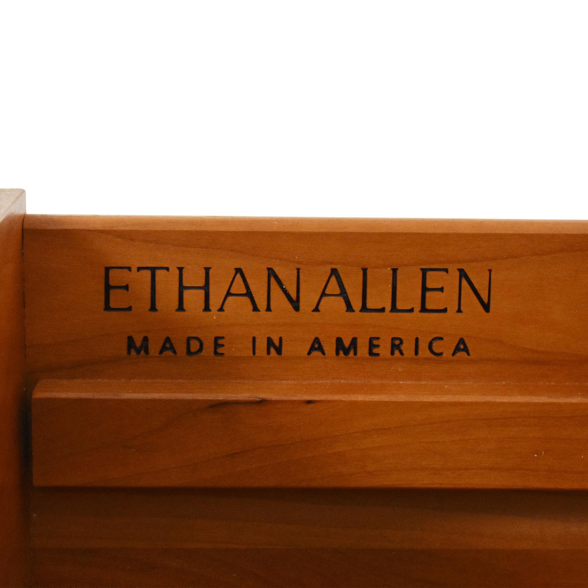 Ethan Allen Ethan Allen Regent's Park Collection Double Dresser dimensions