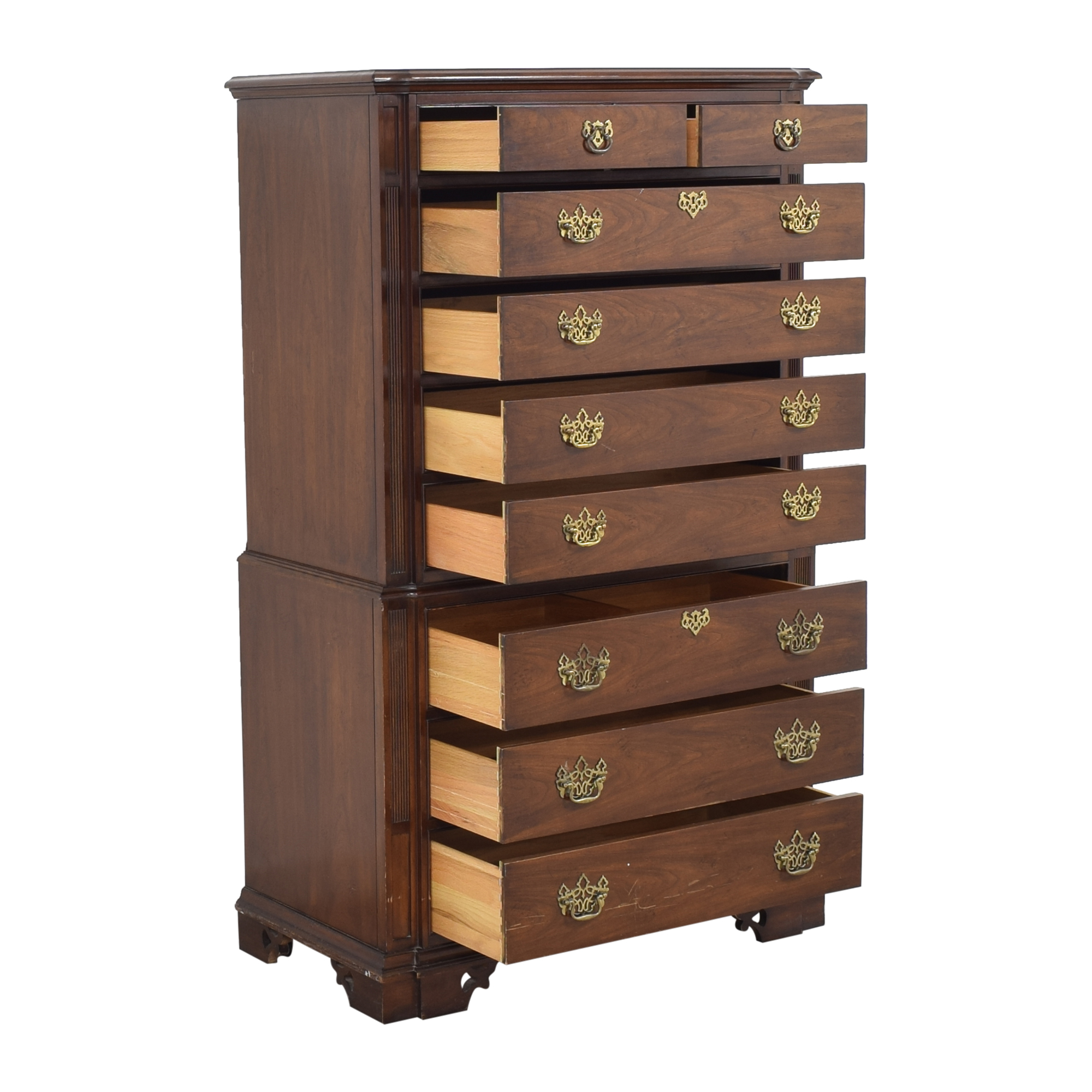 shop Thomasville Highboy Dresser Thomasville Storage