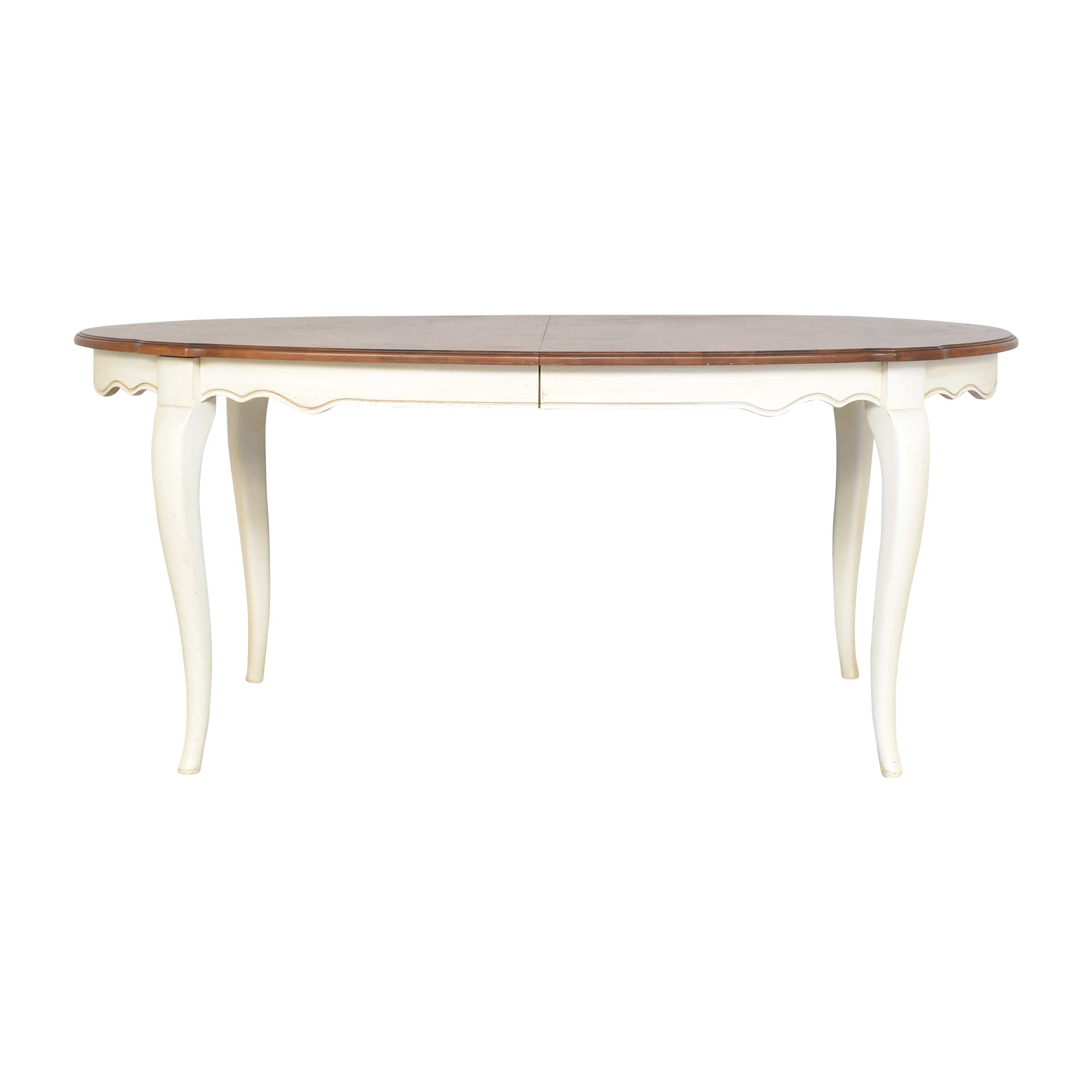 Ethan Allen Country French Extendable Dining Table Ethan Allen