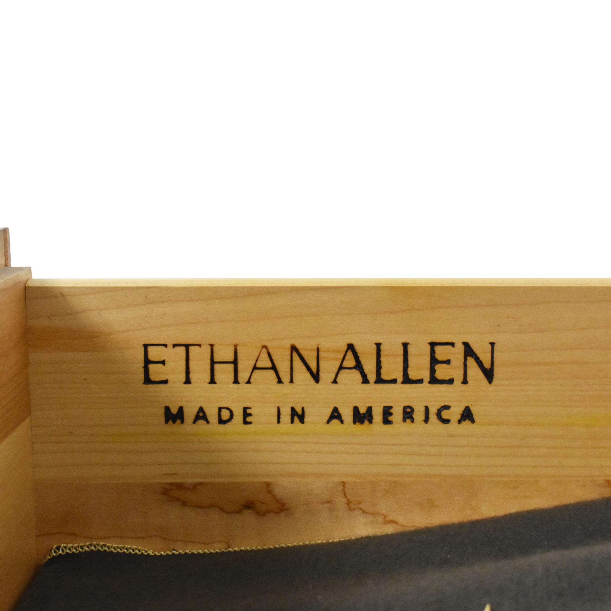 Ethan Allen Ethan Allen Country French Flip Top Server Buffet Storage