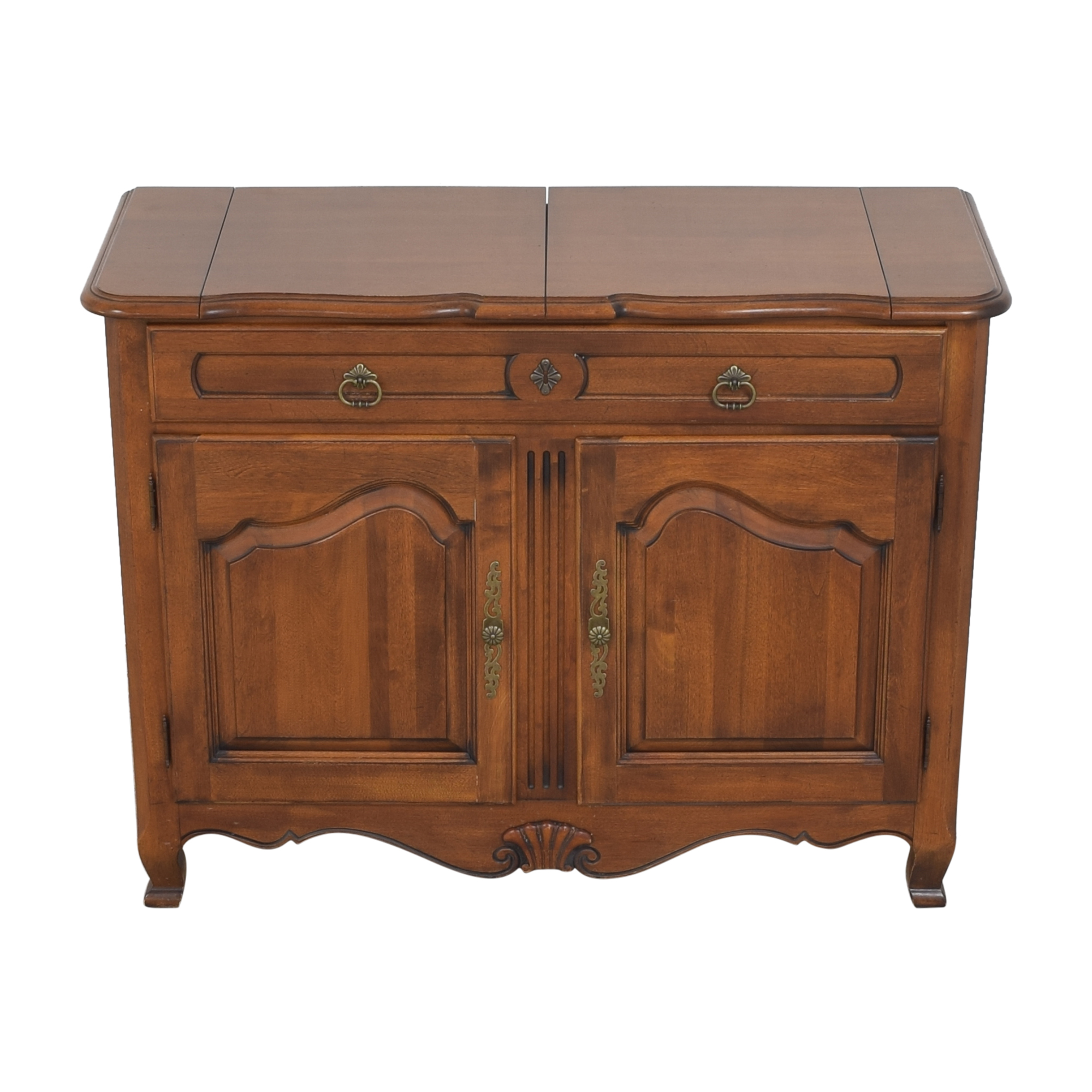 Ethan Allen Ethan Allen Country French Flip Top Server Buffet on sale