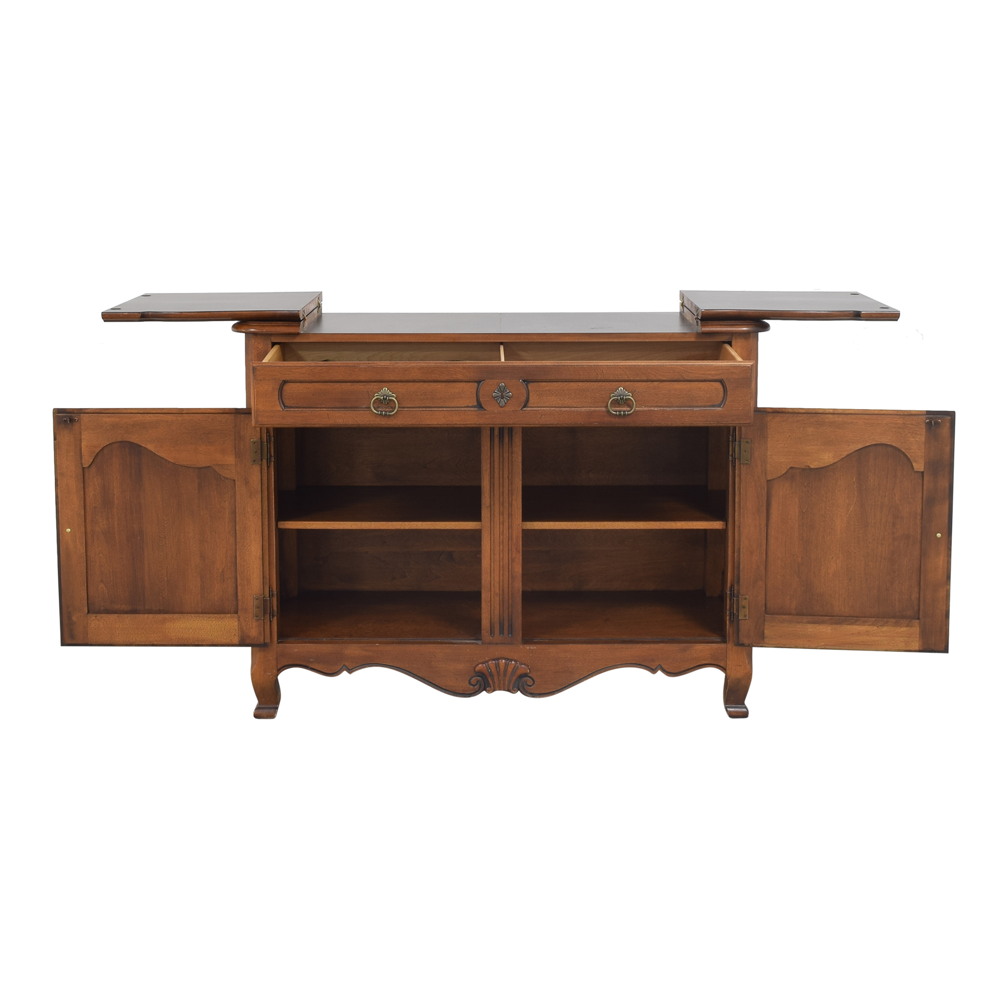 Ethan Allen Ethan Allen Country French Flip Top Server Buffet Cabinets & Sideboards