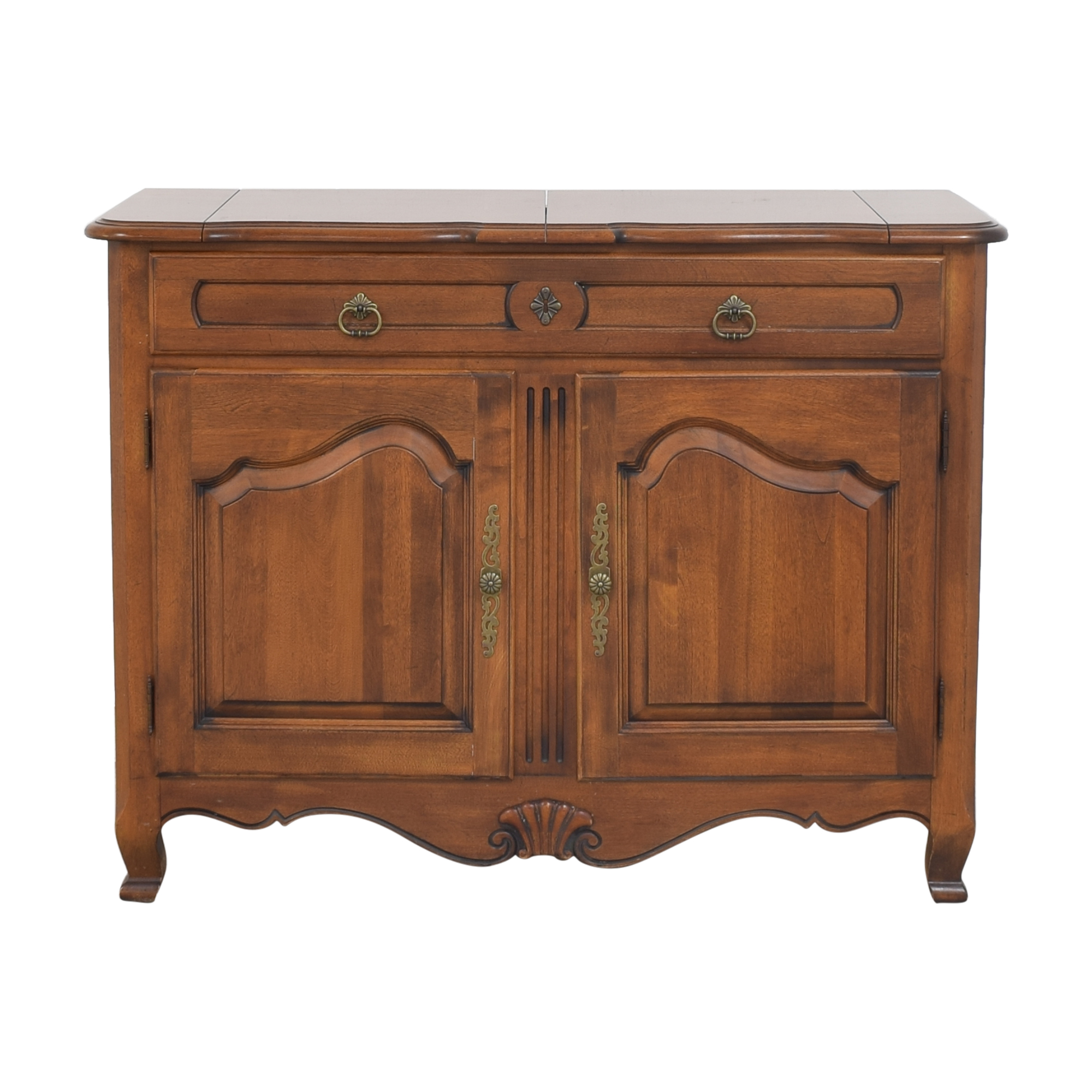 shop Ethan Allen Ethan Allen Country French Flip Top Server Buffet online
