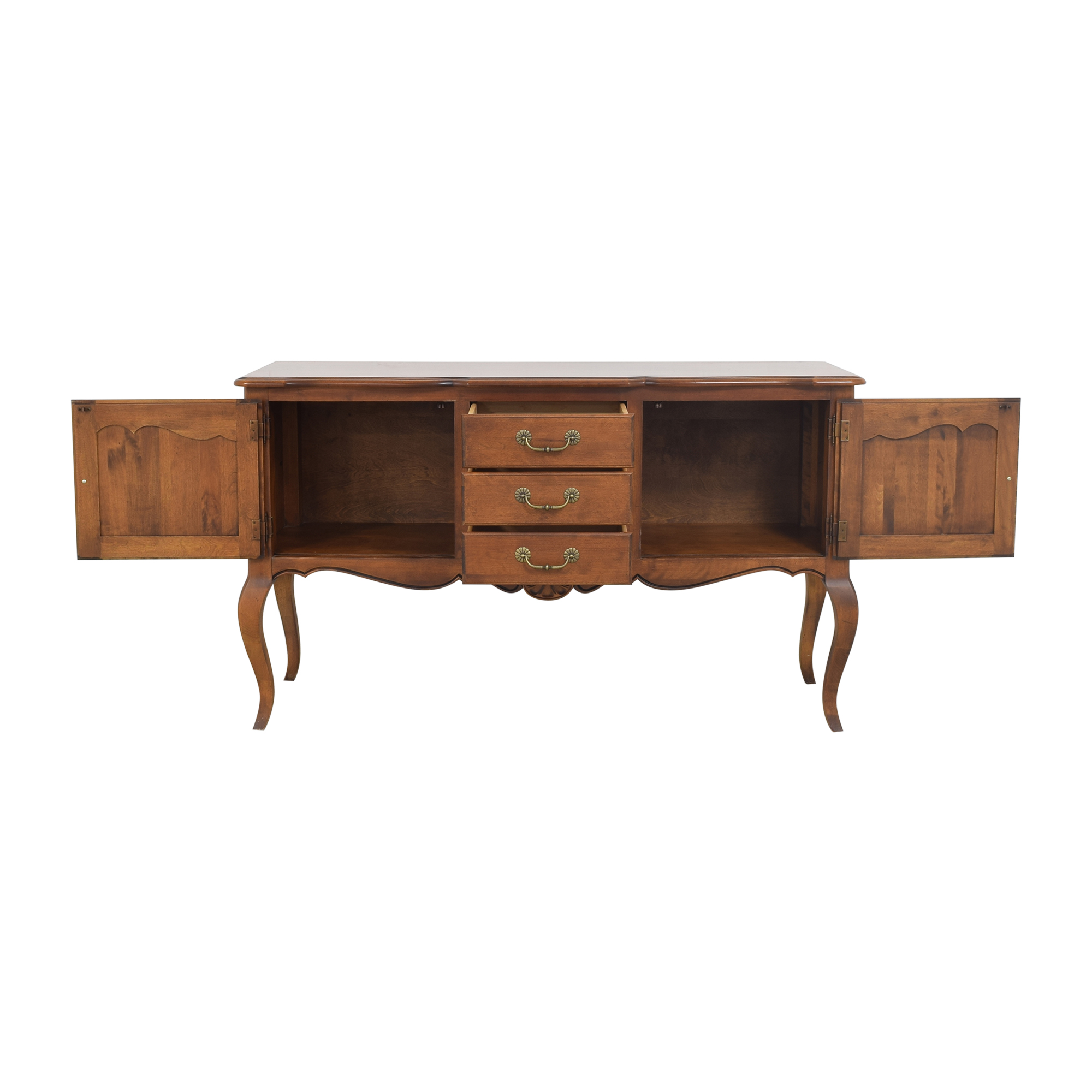 buy Ethan Allen Country French Sideboard Ethan Allen Storage