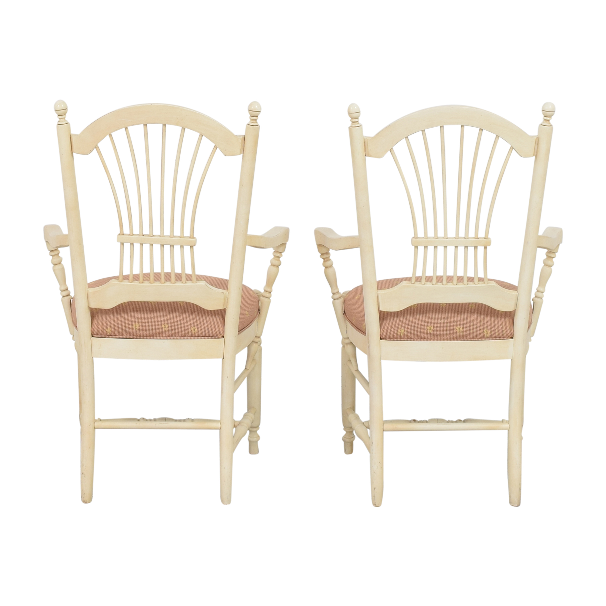 Ethan Allen Ethan Allen Country French Dining Arm Chairs coupon