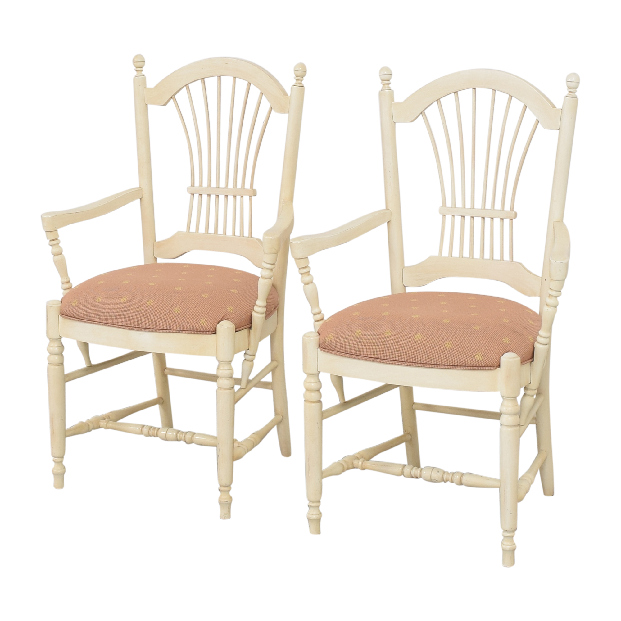 Ethan Allen Ethan Allen Country French Dining Arm Chairs for sale