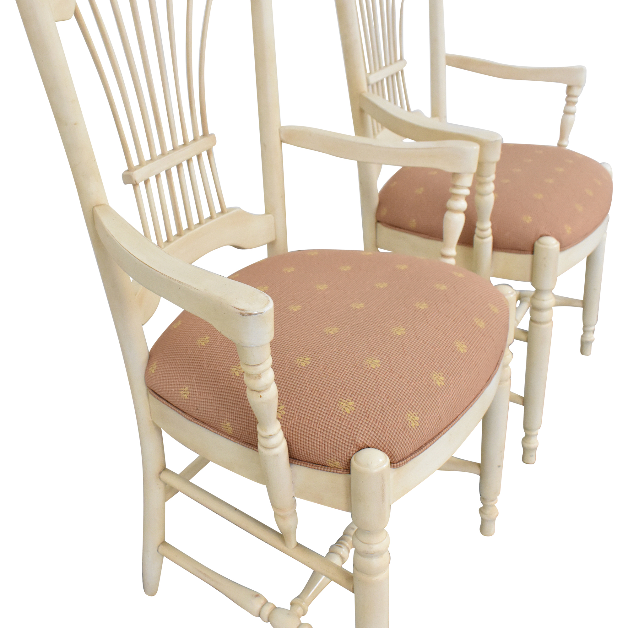 Ethan Allen Ethan Allen Country French Dining Arm Chairs Chairs