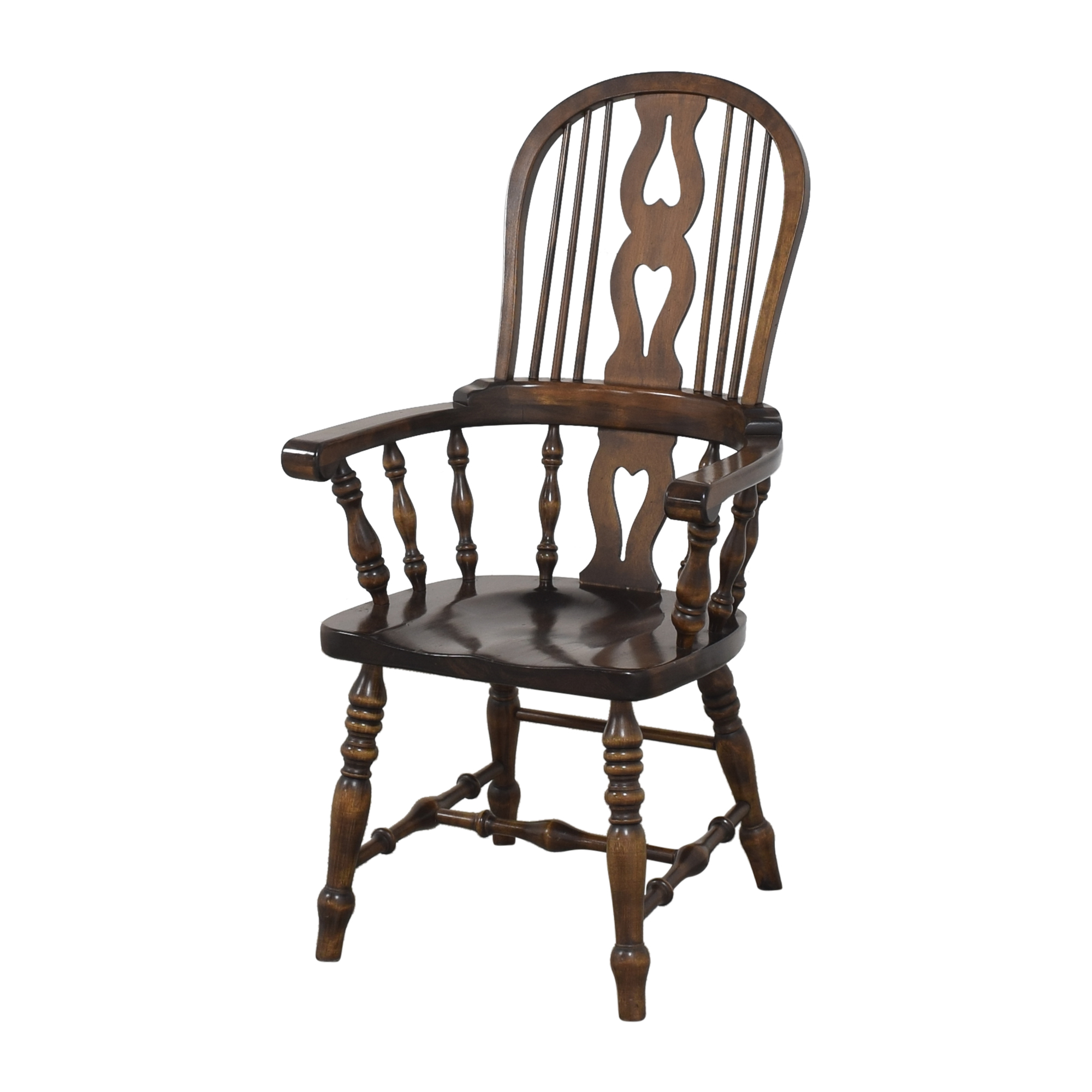 Bennington Pine Bennington Pine Vintage Windsor-Style Arm Chairs