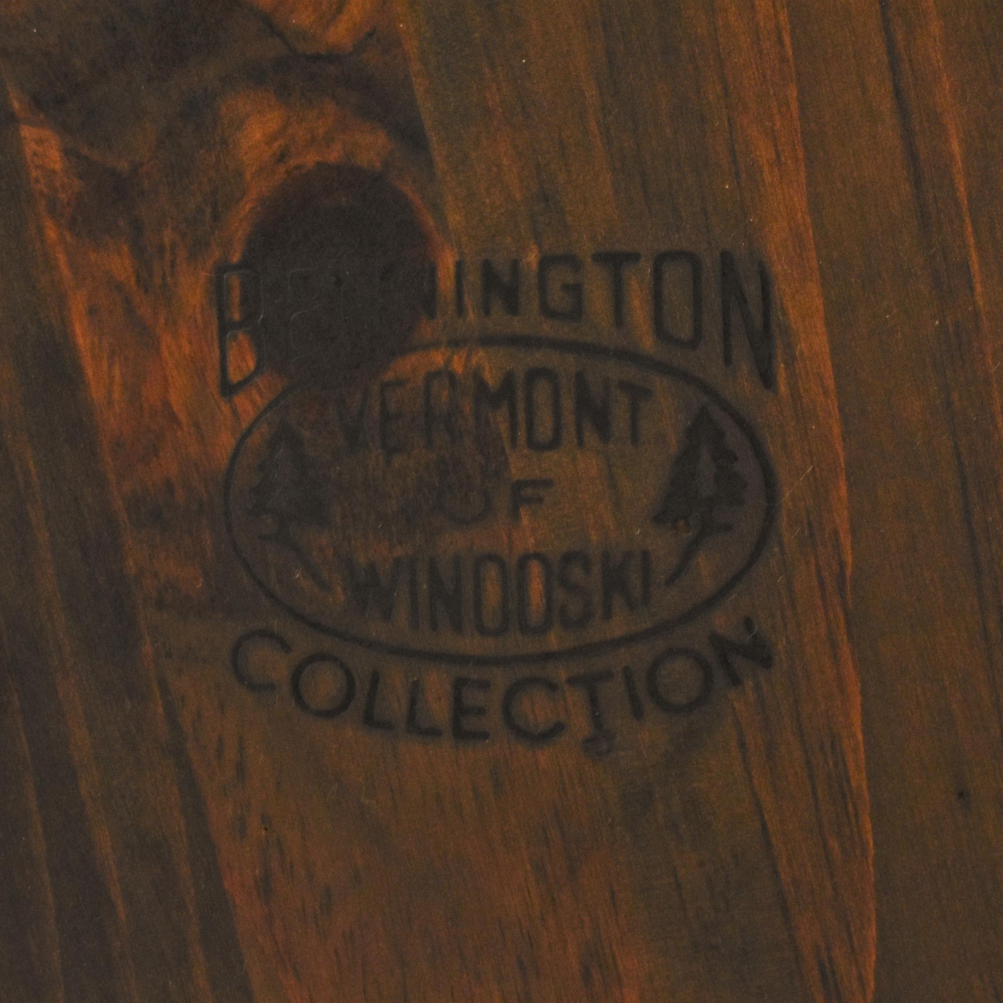 Bennington Pine Bennington Pine Vintage Windsor-Style Arm Chairs used