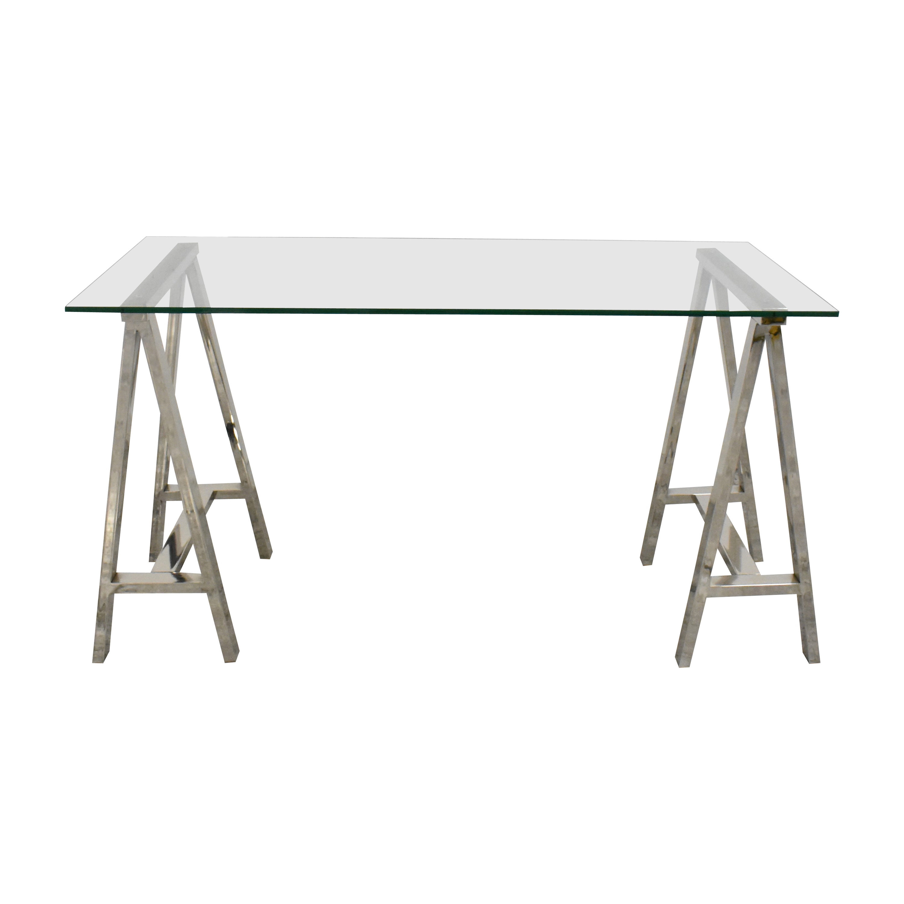 West Elm West Elm Cross Base Desk ct