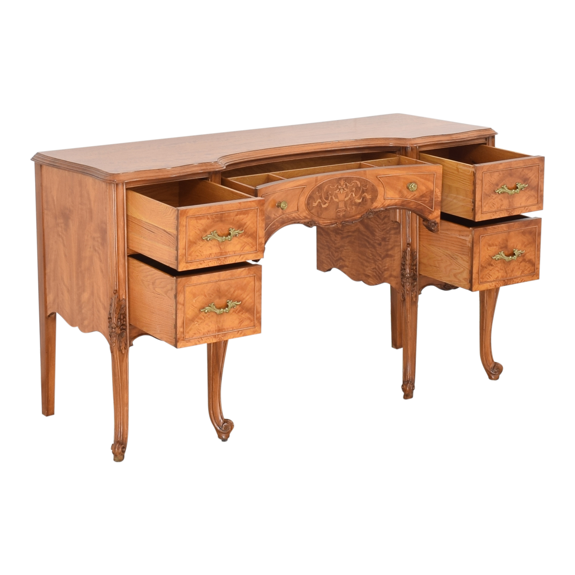 43 Off Antique Vanity Table Tables