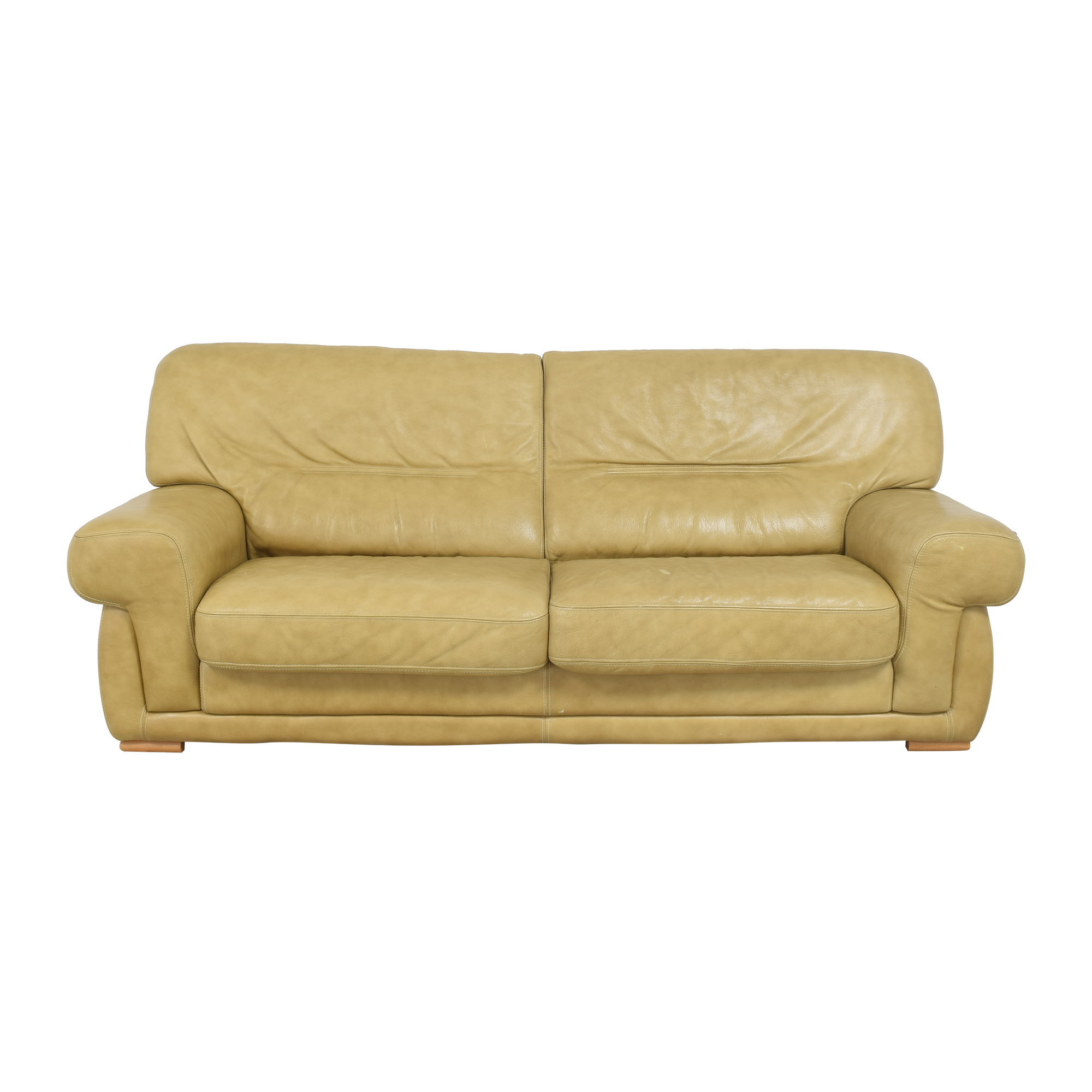 Formitalia Formitalia Two Cushion Sofa used