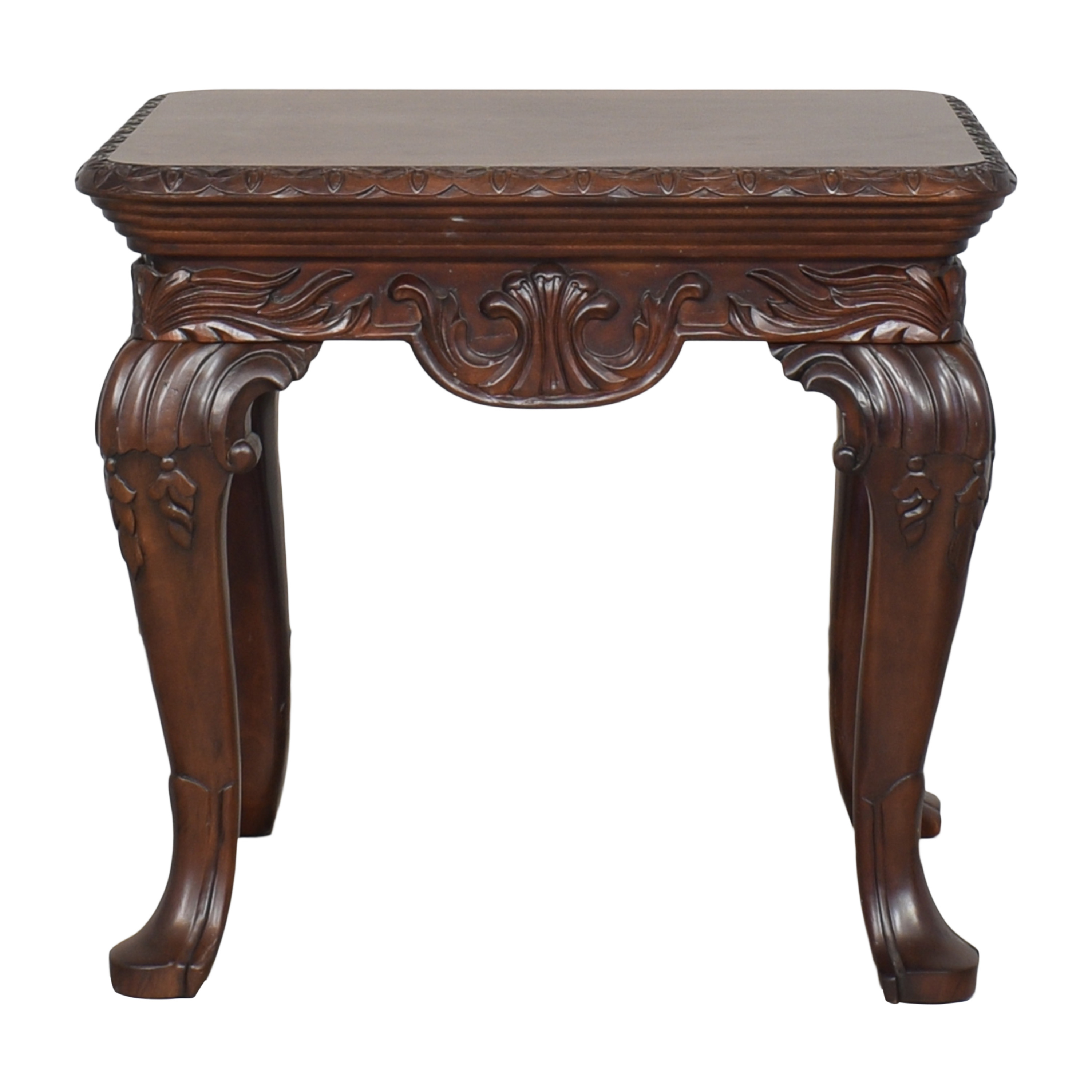 Thomasville Thomasville Carved Side Table discount