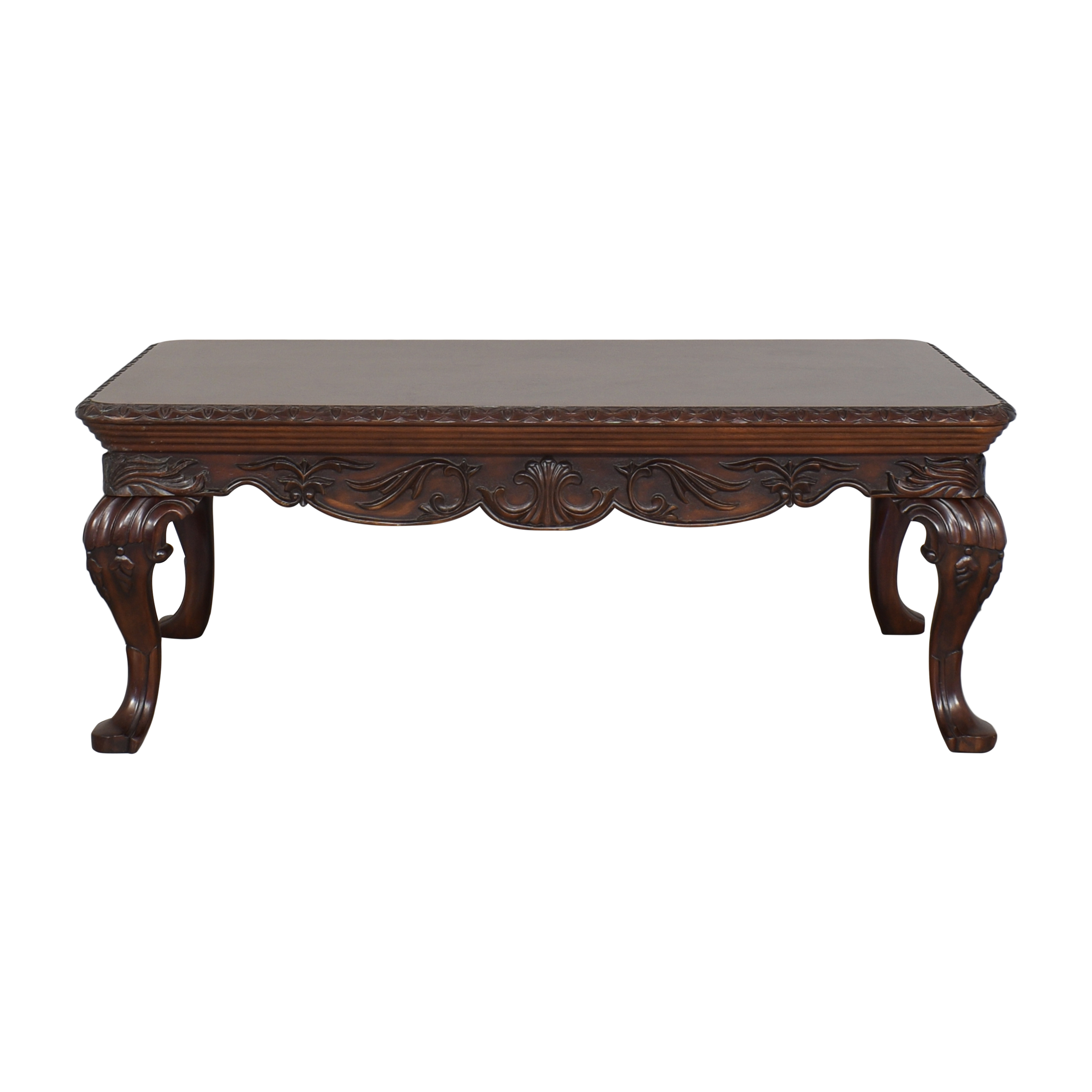 buy Thomasville Carved Coffee Table Thomasville Tables