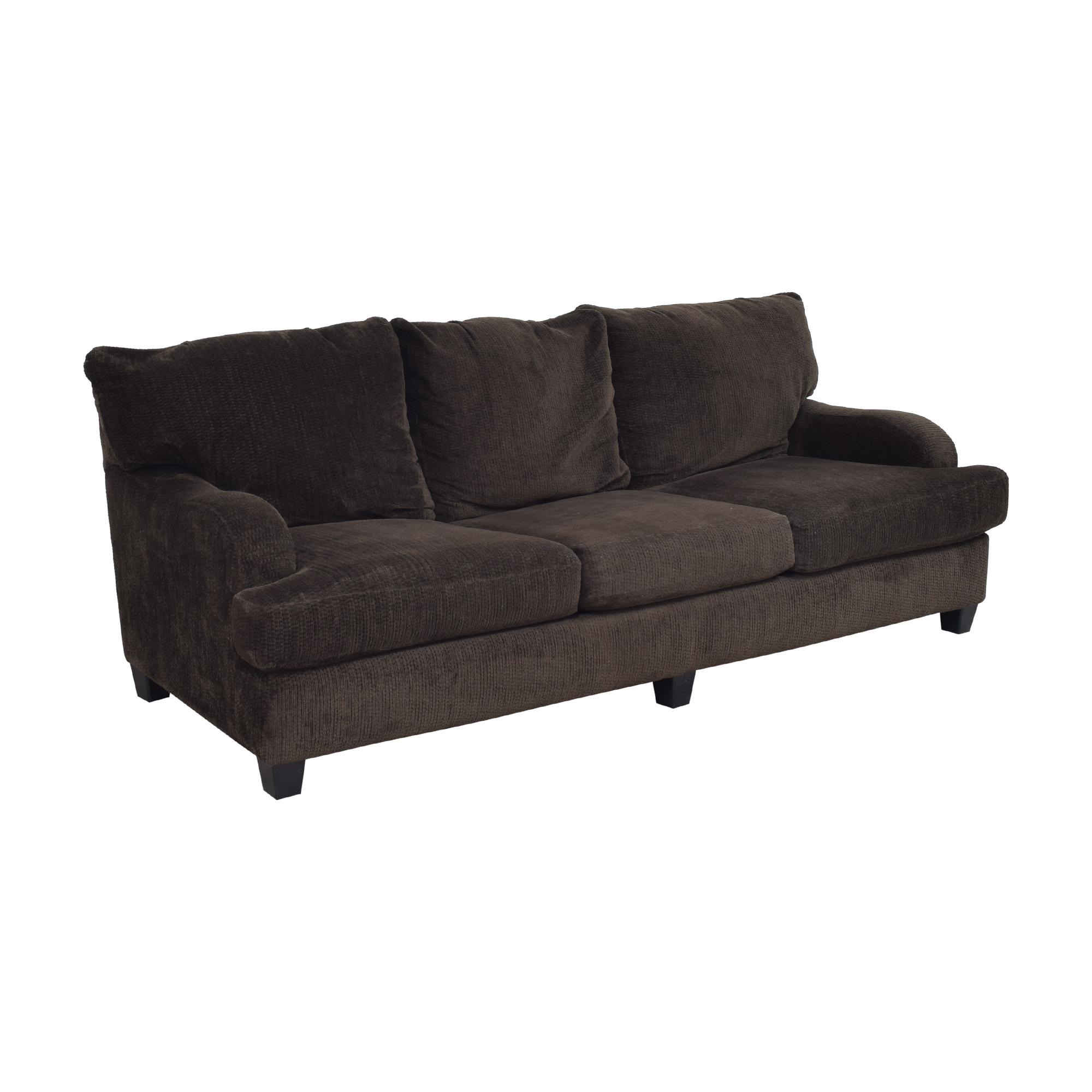 Raymour & Flanigan Raymour & Flanigan Three Cushion Sofa dimensions