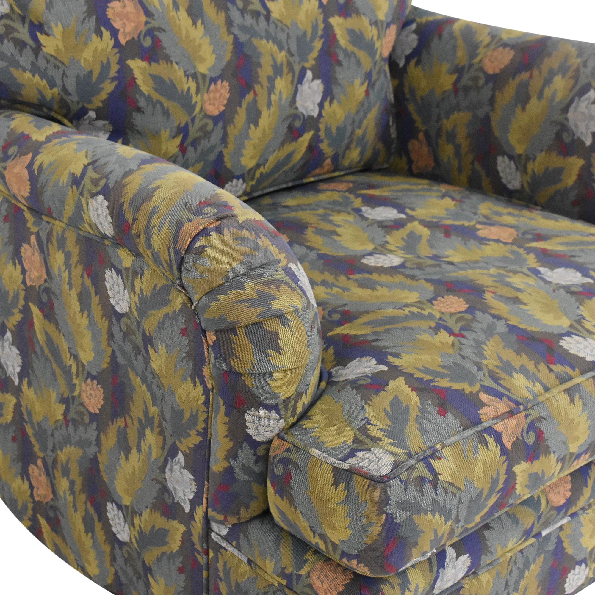 Donghia Upholstered Club Chair / Chairs
