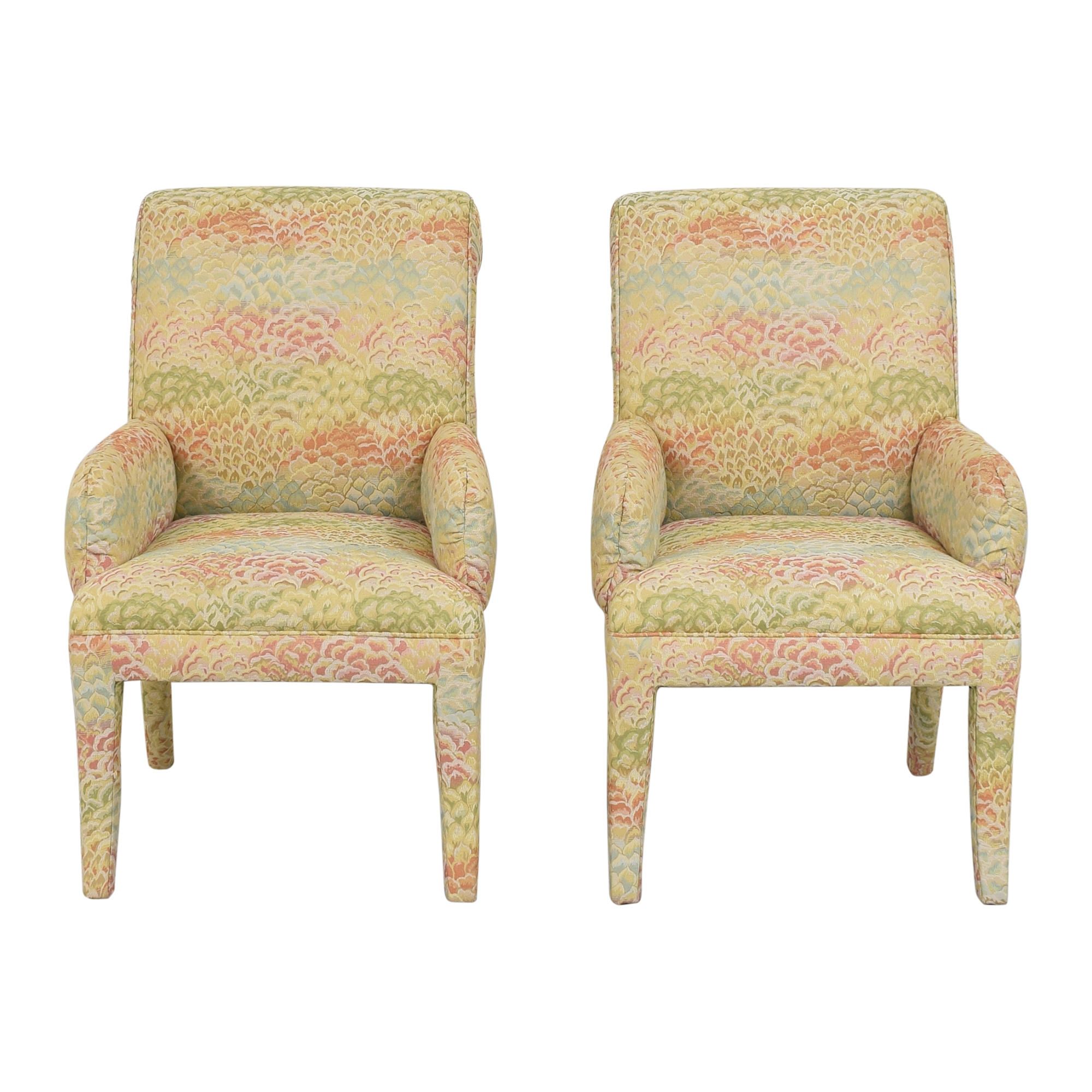 shop Custom Upholstered Dining Arm Chairs  Chairs