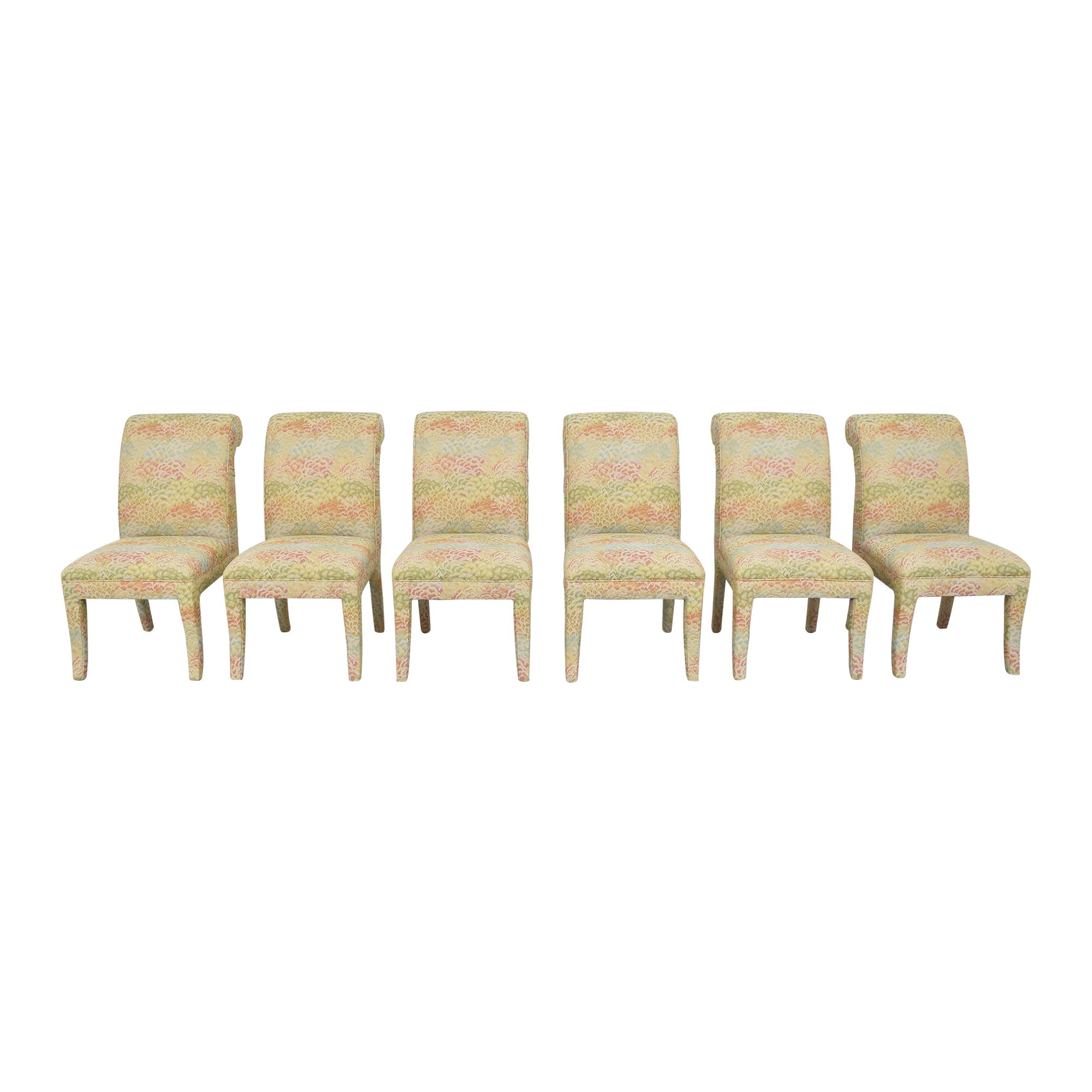 Custom Upholstered Dining Side Chairs sale