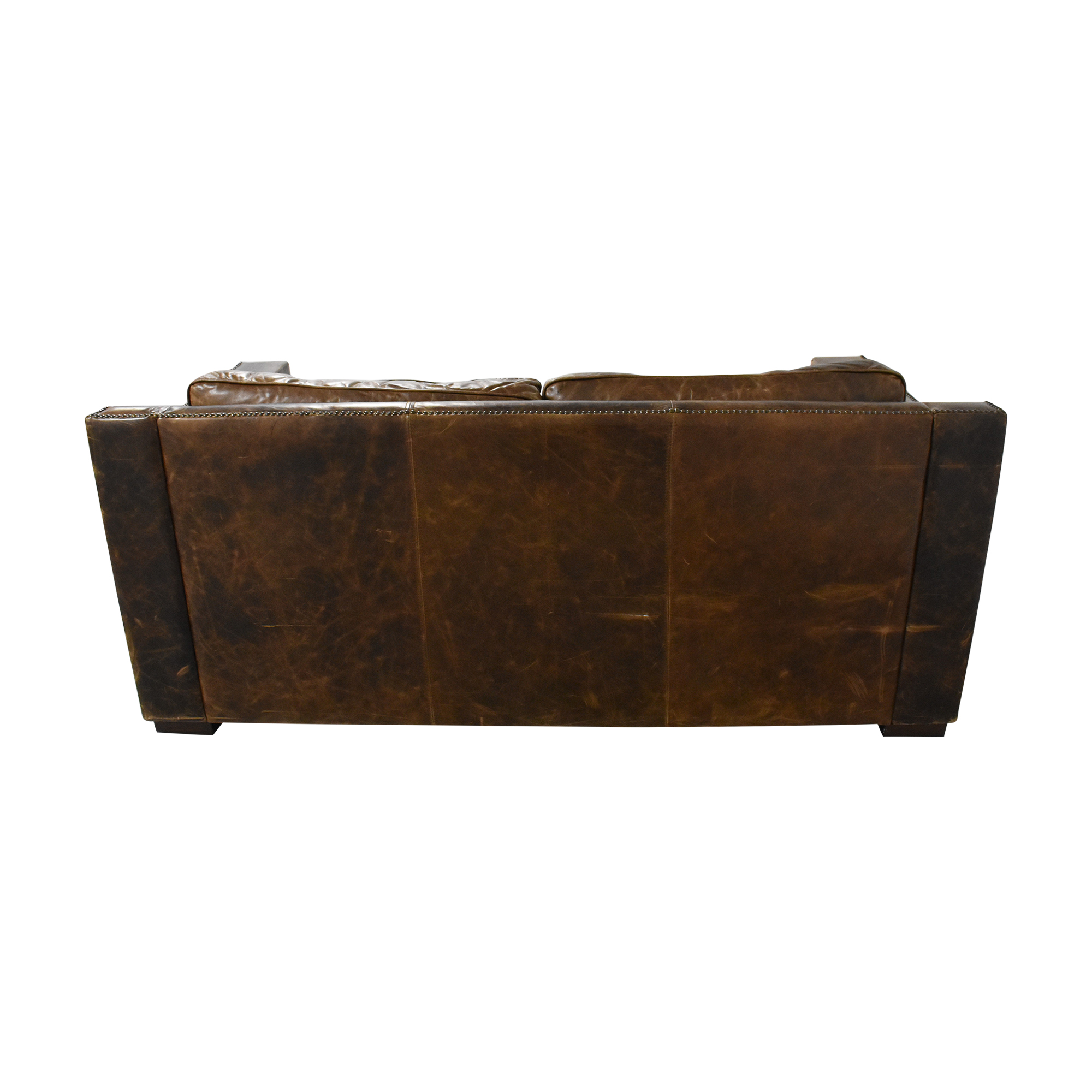 shop Restoration Hardware Collins Sofa with Nailheads Restoration Hardware Classic Sofas