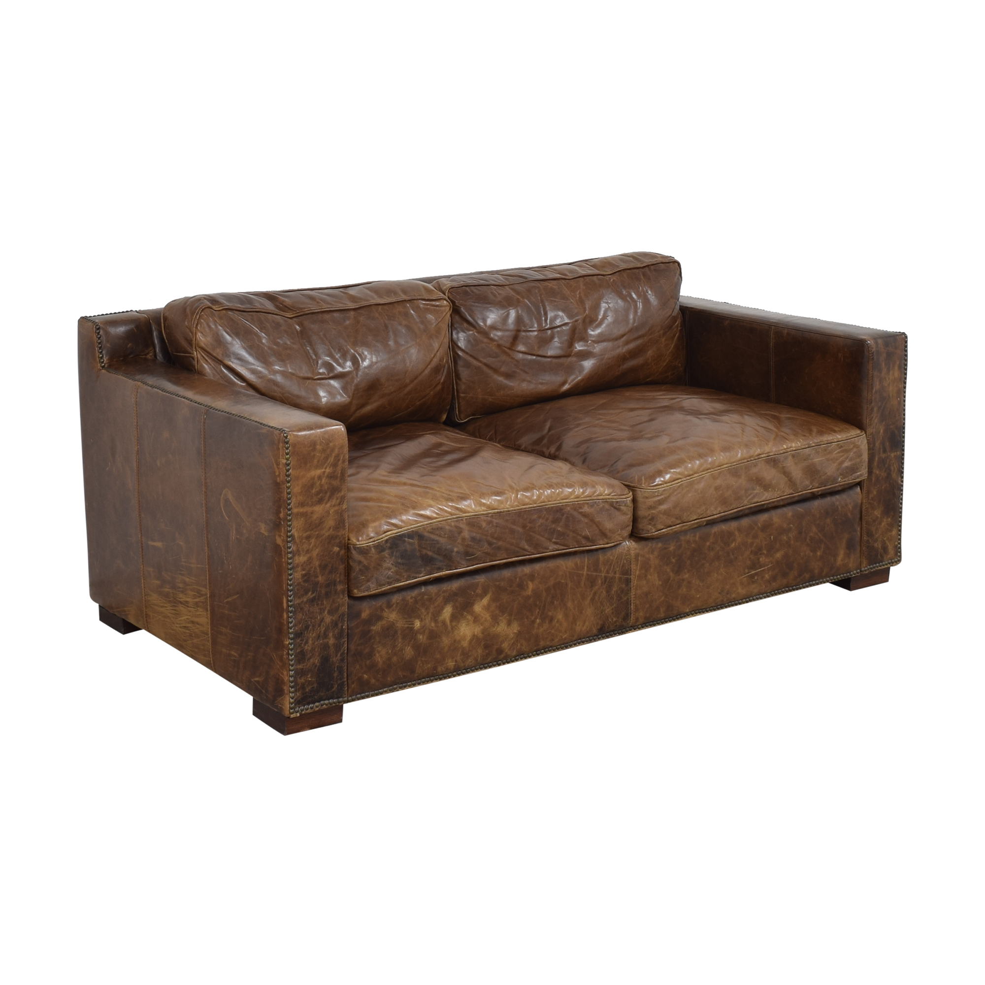 Restoration Hardware Restoration Hardware Collins Sofa with Nailheads coupon