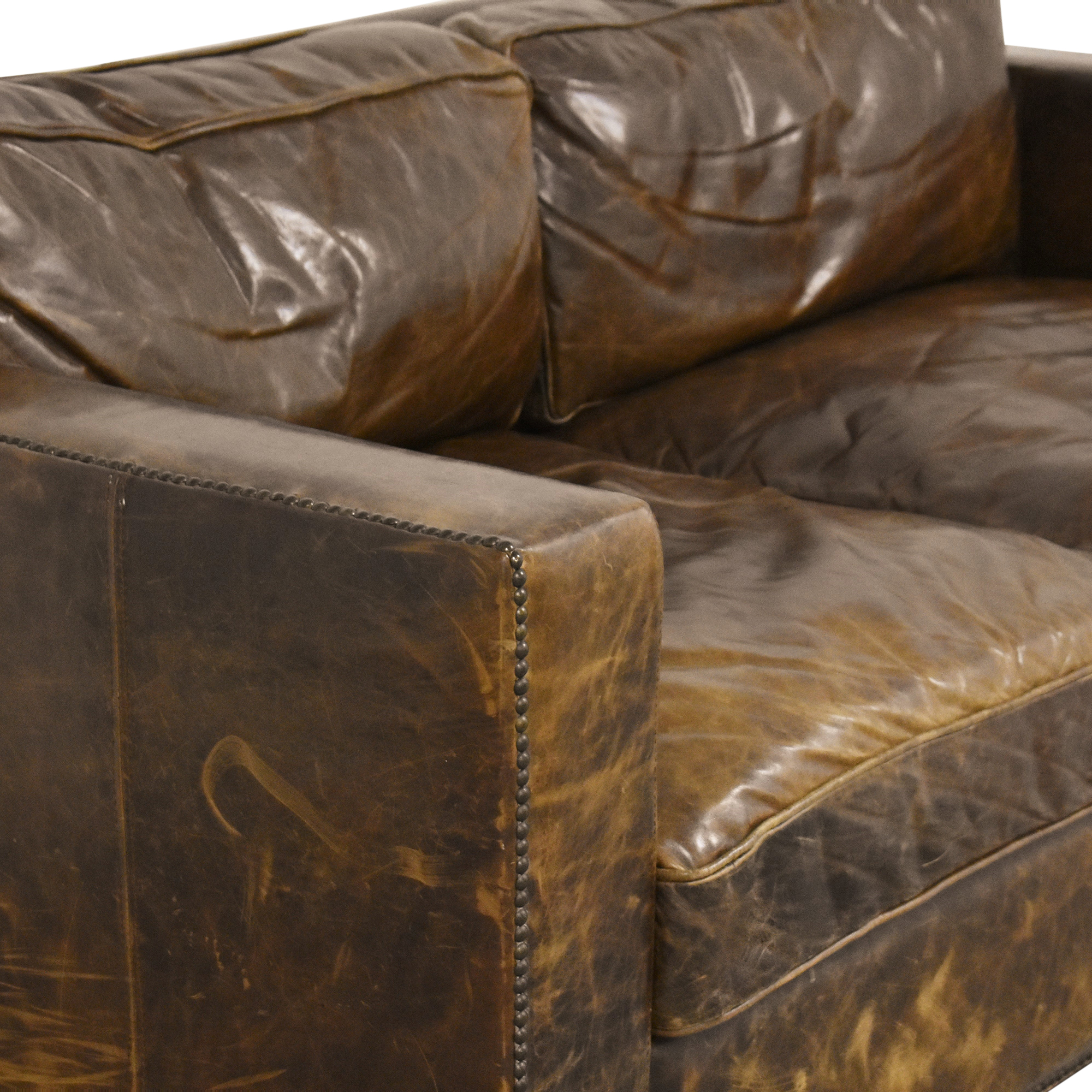 buy Restoration Hardware Restoration Hardware Collins Sofa with Nailheads online