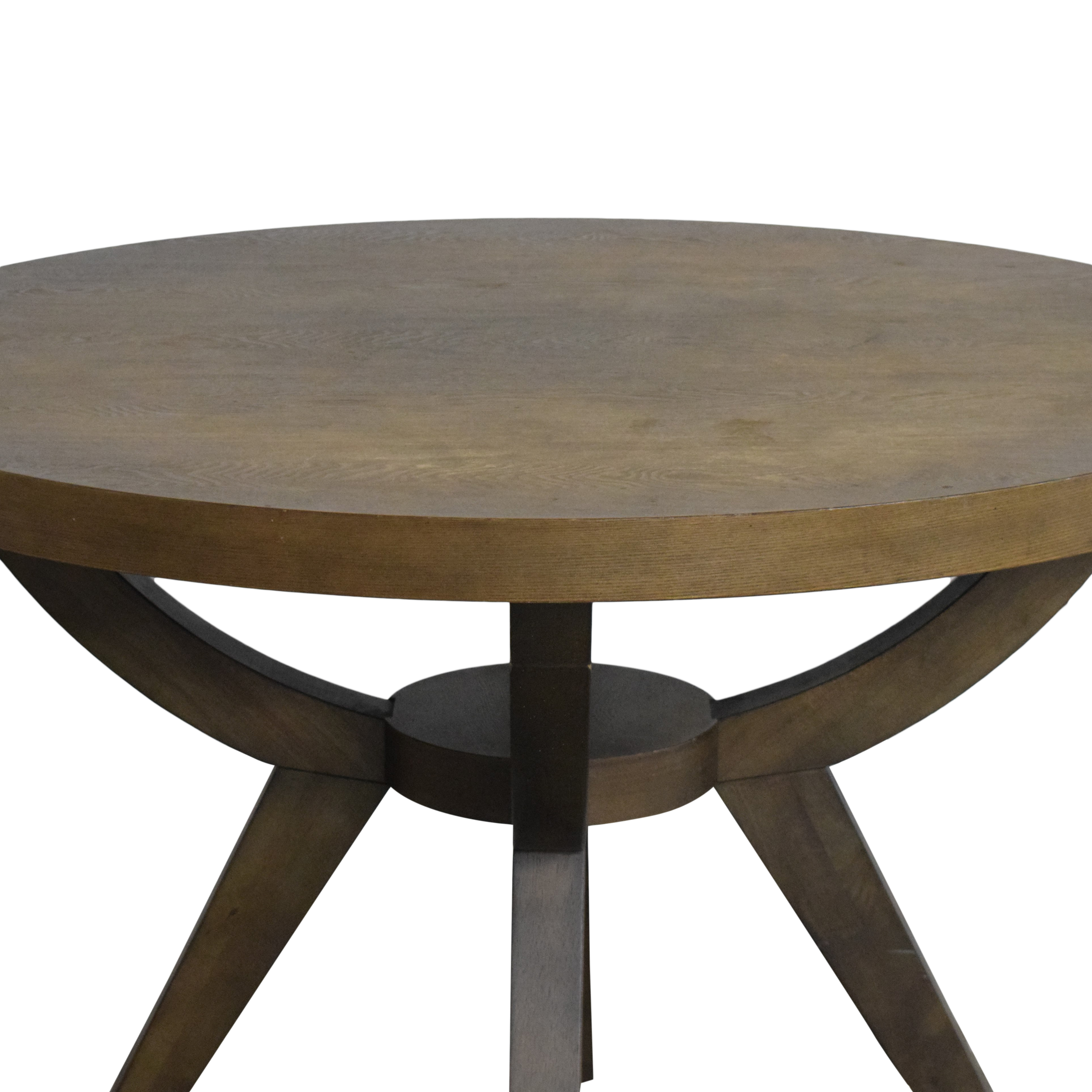 West Elm West Elm Arc Base Pedestal Dining Table on sale
