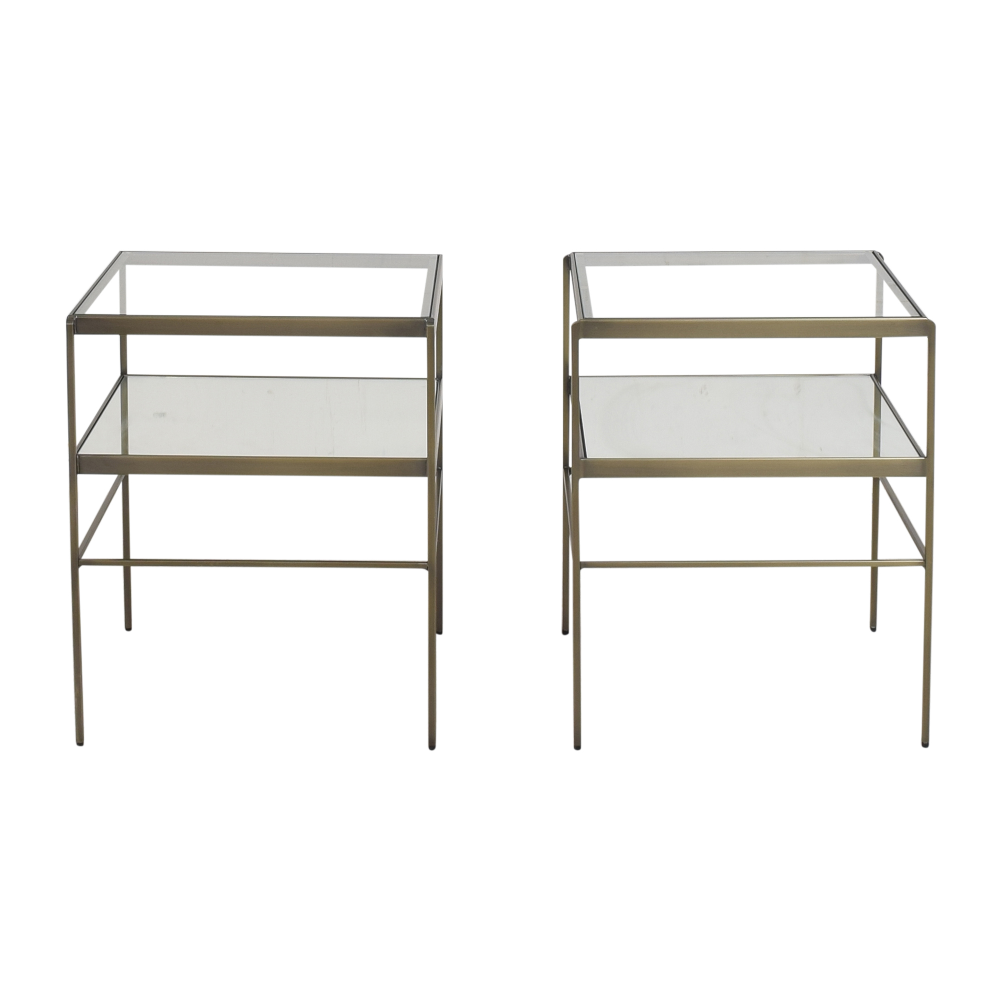 Pottery Barn Pottery Barn Leona Side Tables for sale