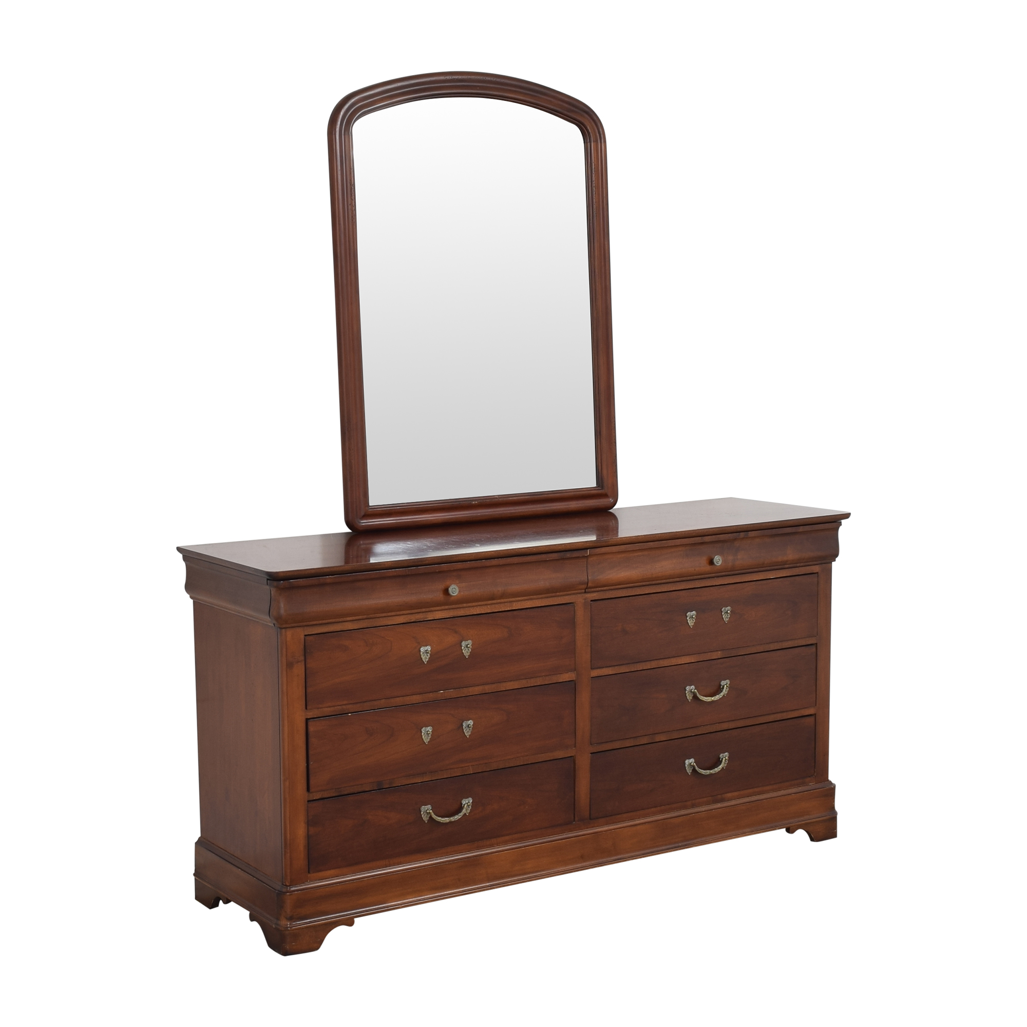 Drexel Heritage Drexel Heritage Delshire Double Dresser with Mirror
