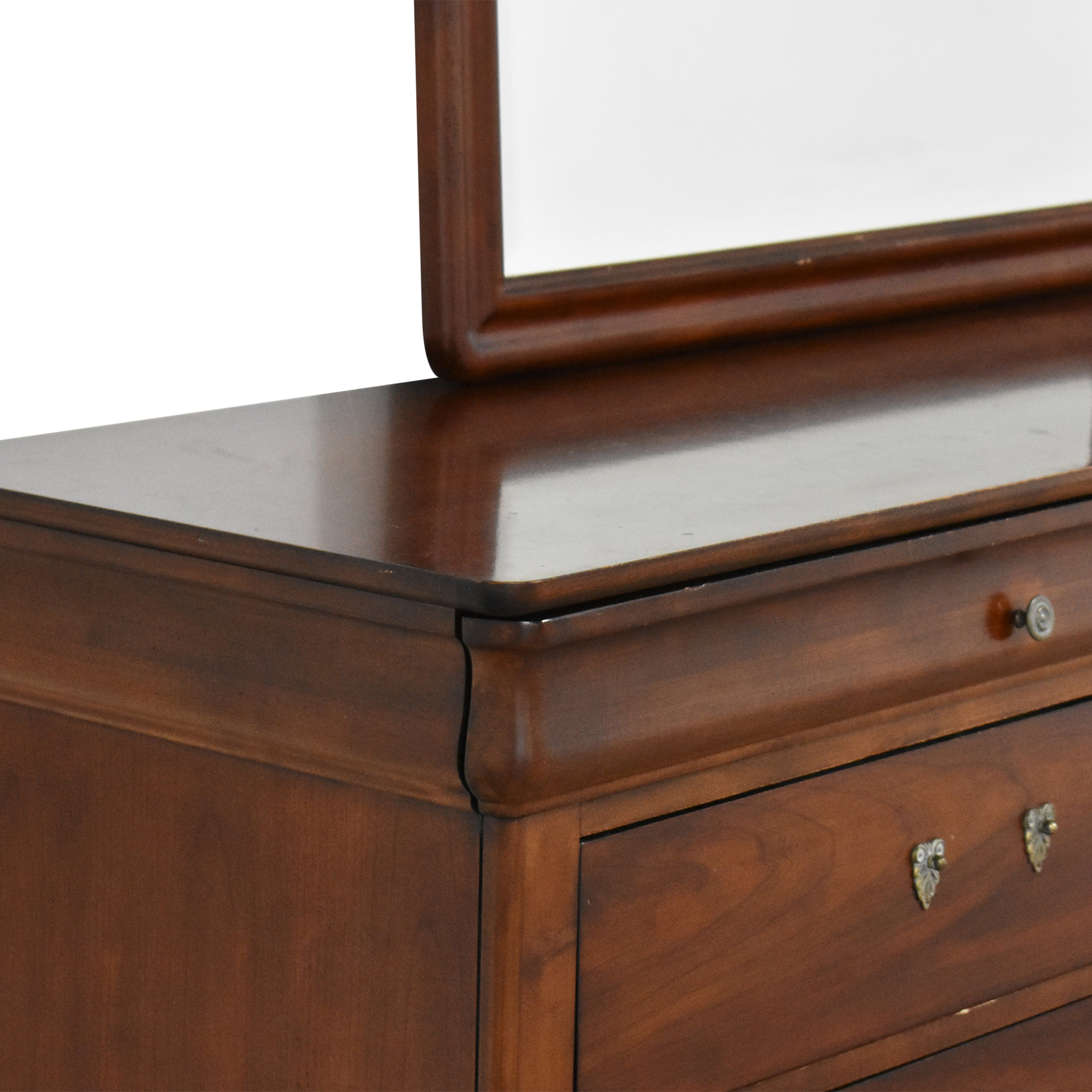 Drexel Heritage Drexel Heritage Delshire Double Dresser with Mirror pa