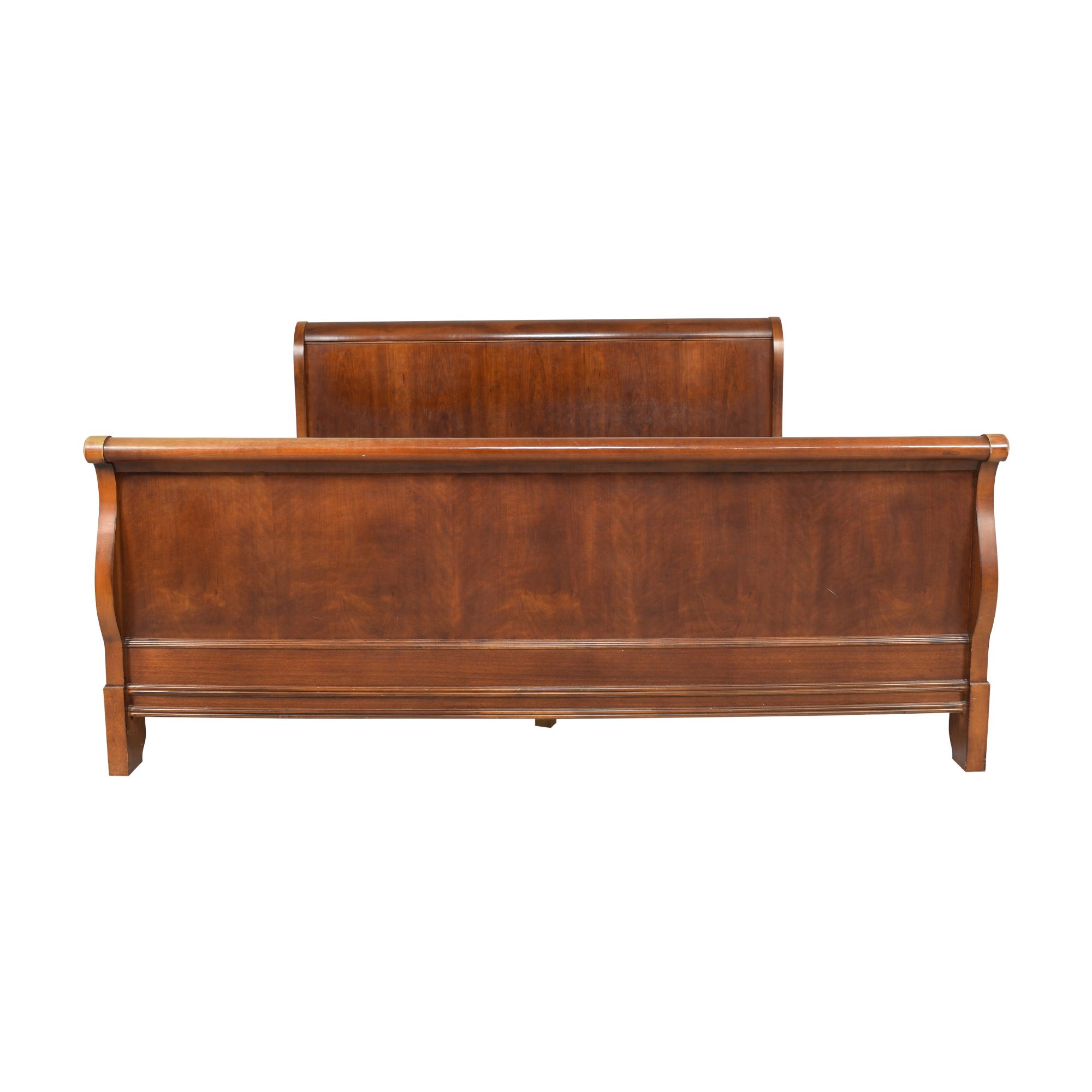 Drexel Heritage King Sleigh Bed Frame sale