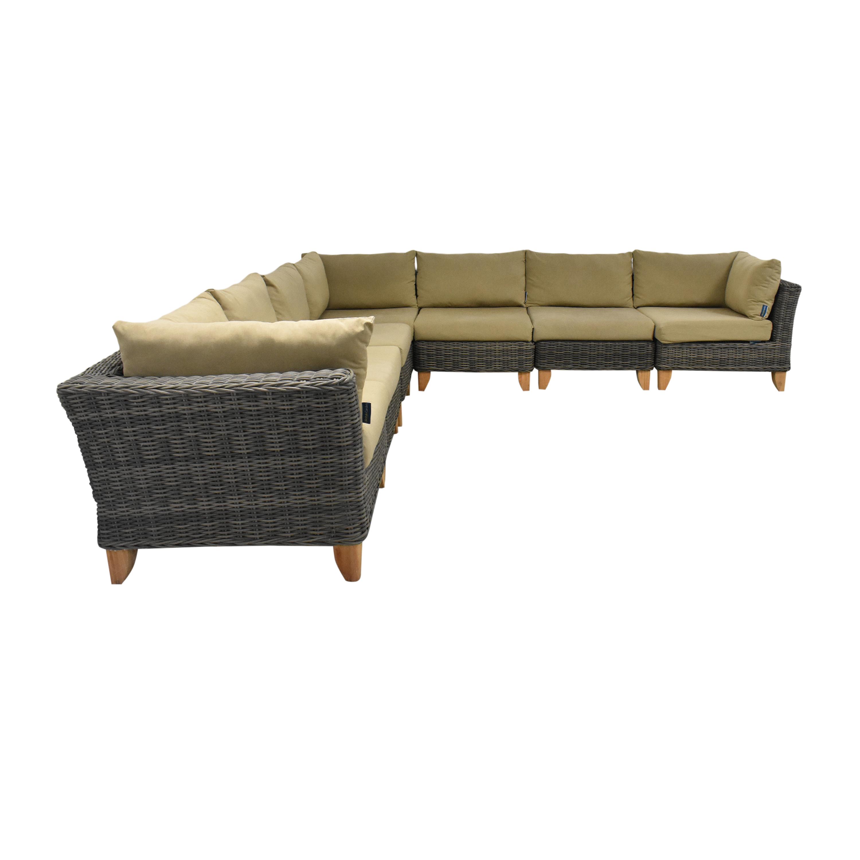 LifestyleGarden LifestyleGarden Corner Sectional Sofa Sectionals