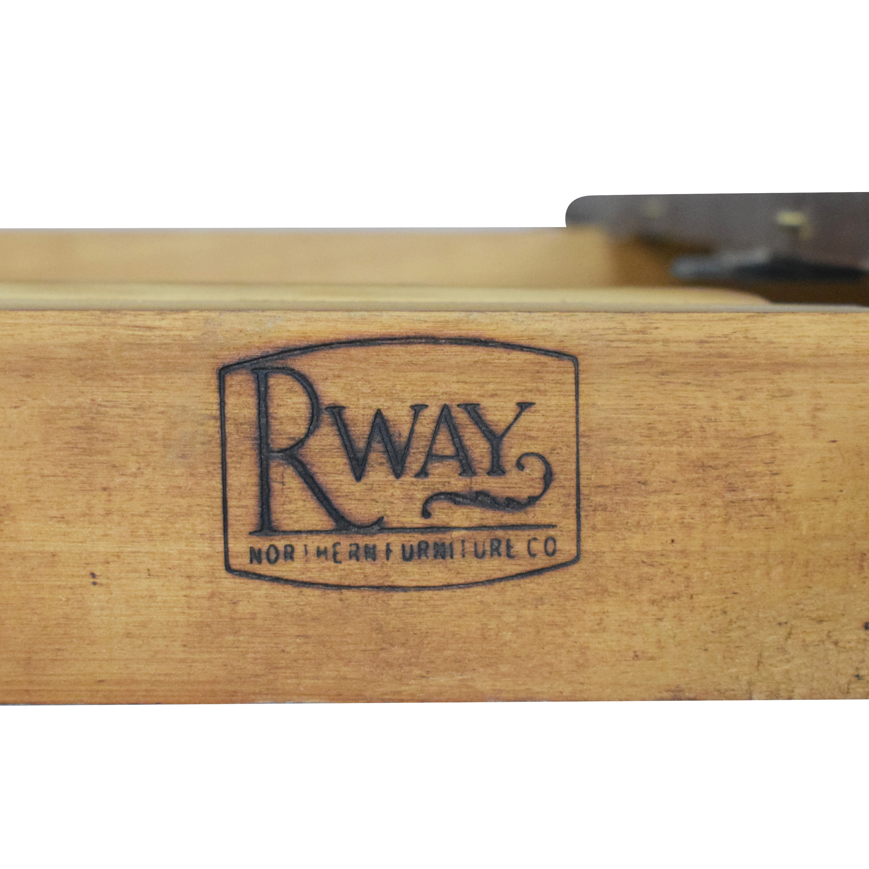 shop RWAY Double Pedestal Dining Table RWAY