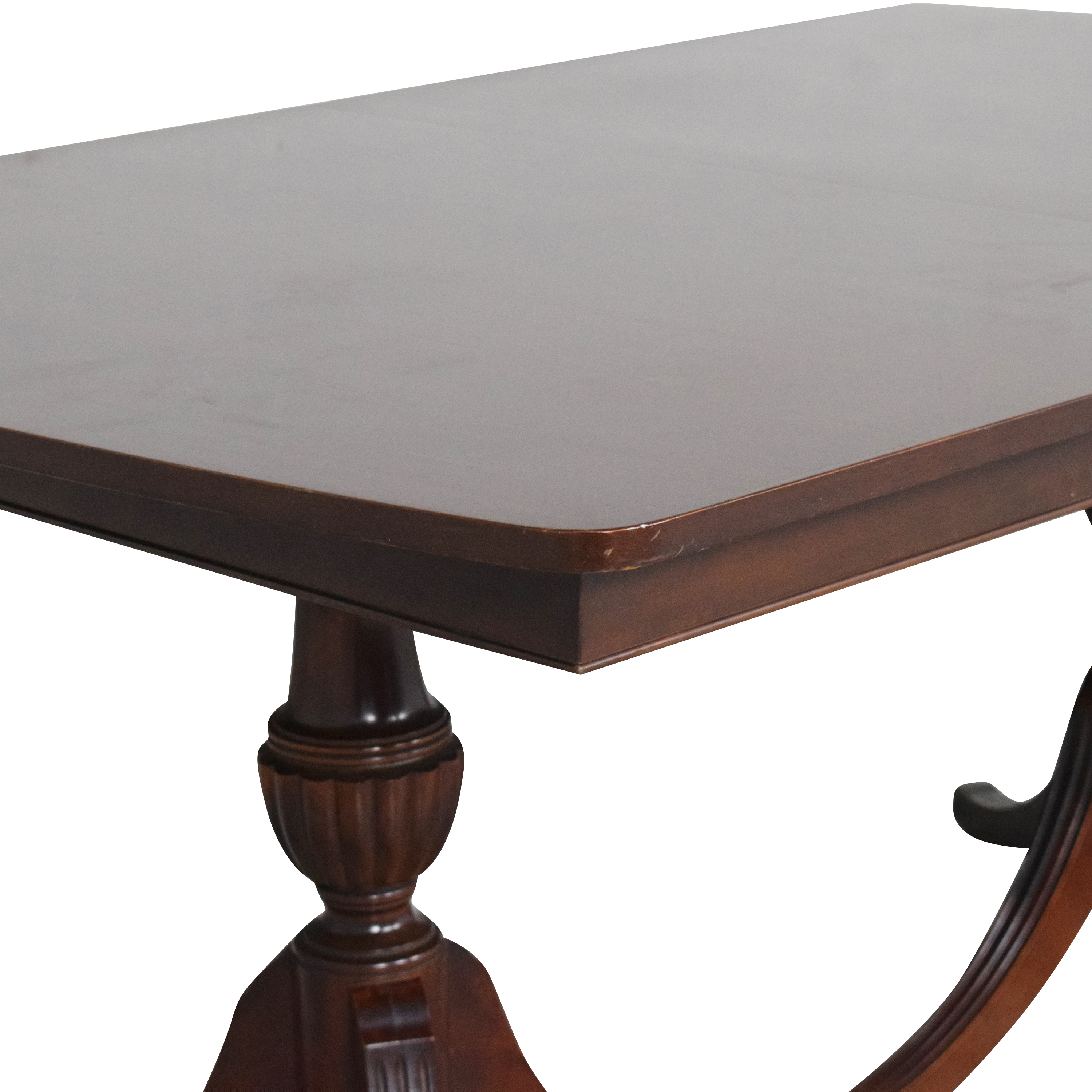 RWAY RWAY Double Pedestal Dining Table nyc