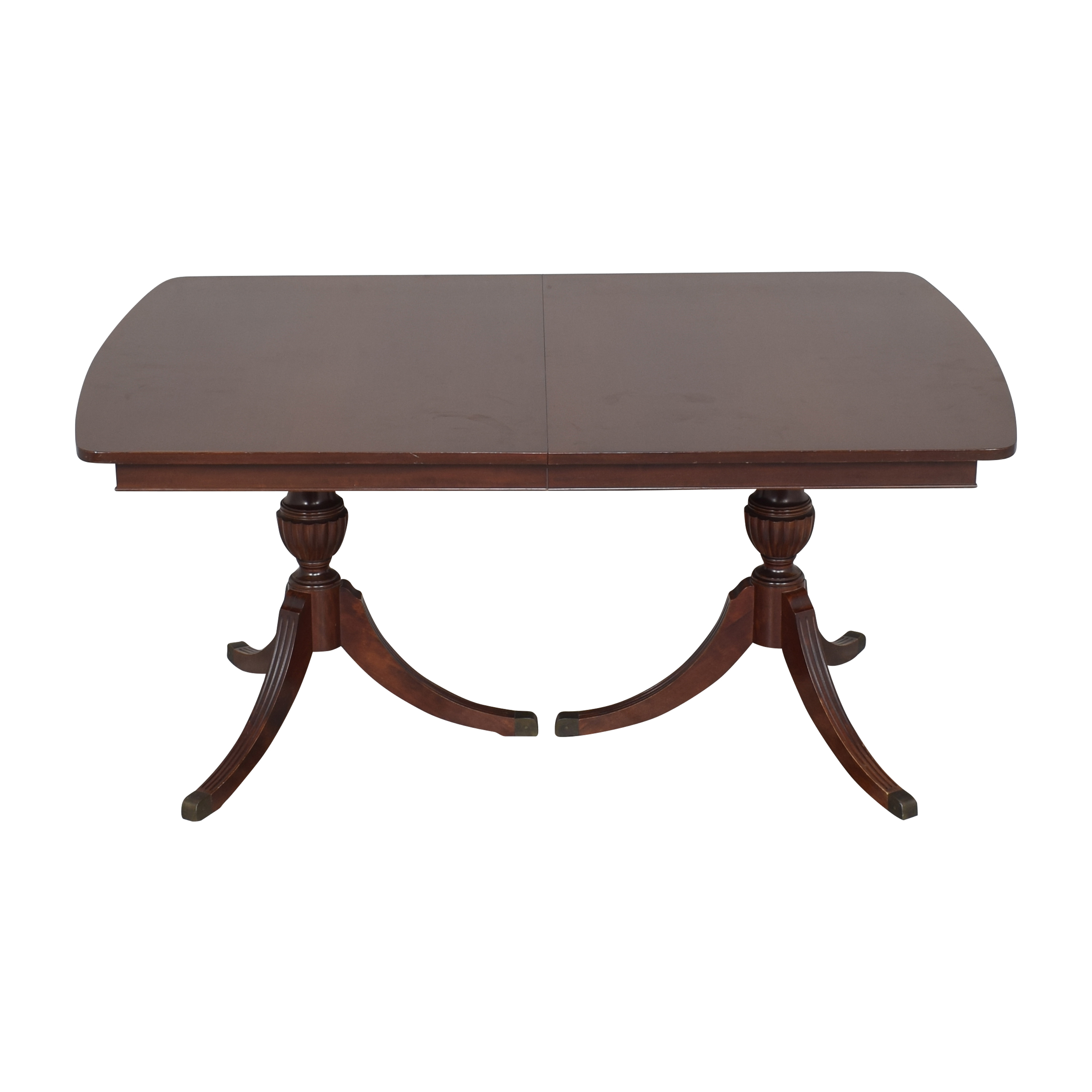 RWAY RWAY Double Pedestal Dining Table