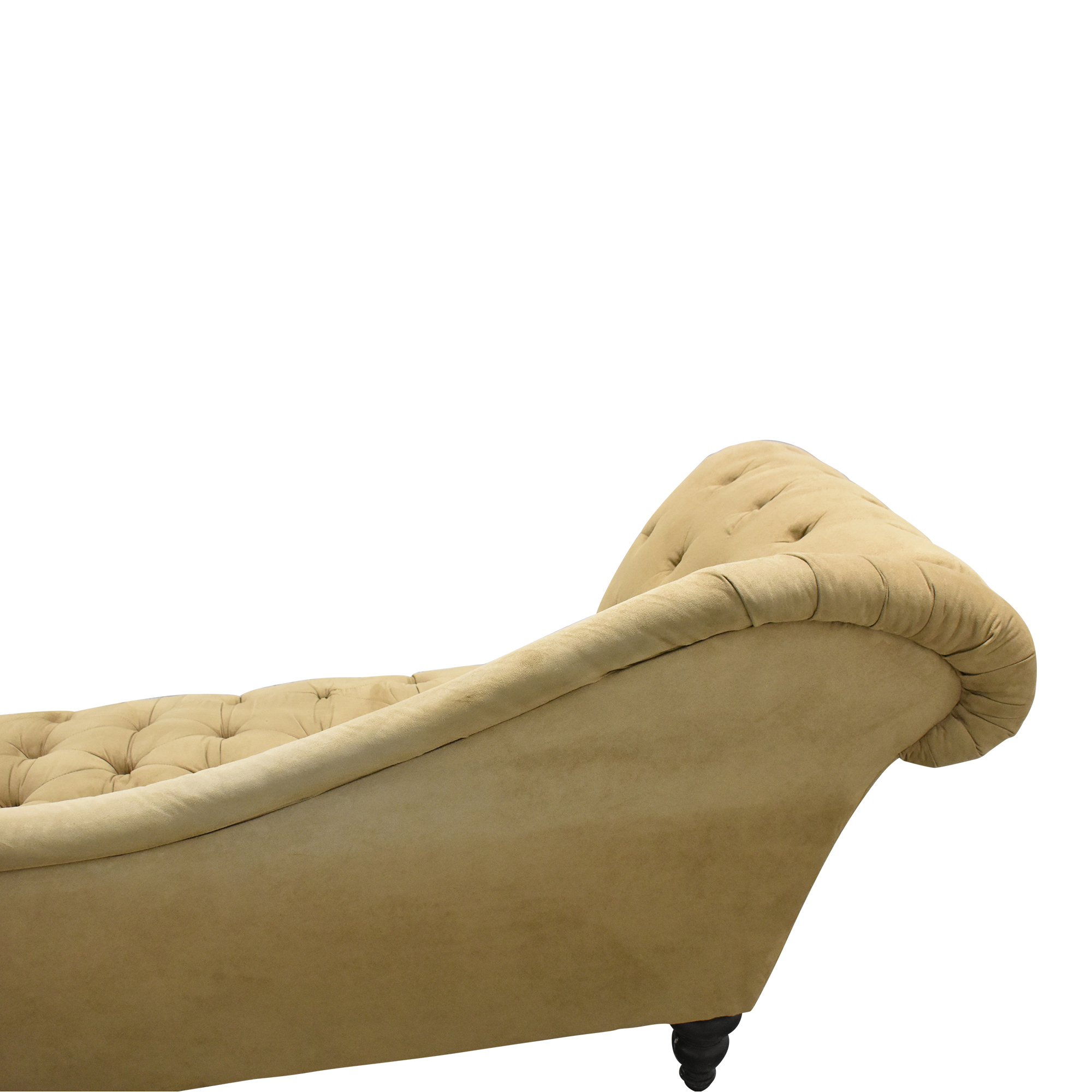 Tufted Chaise Lounge coupon