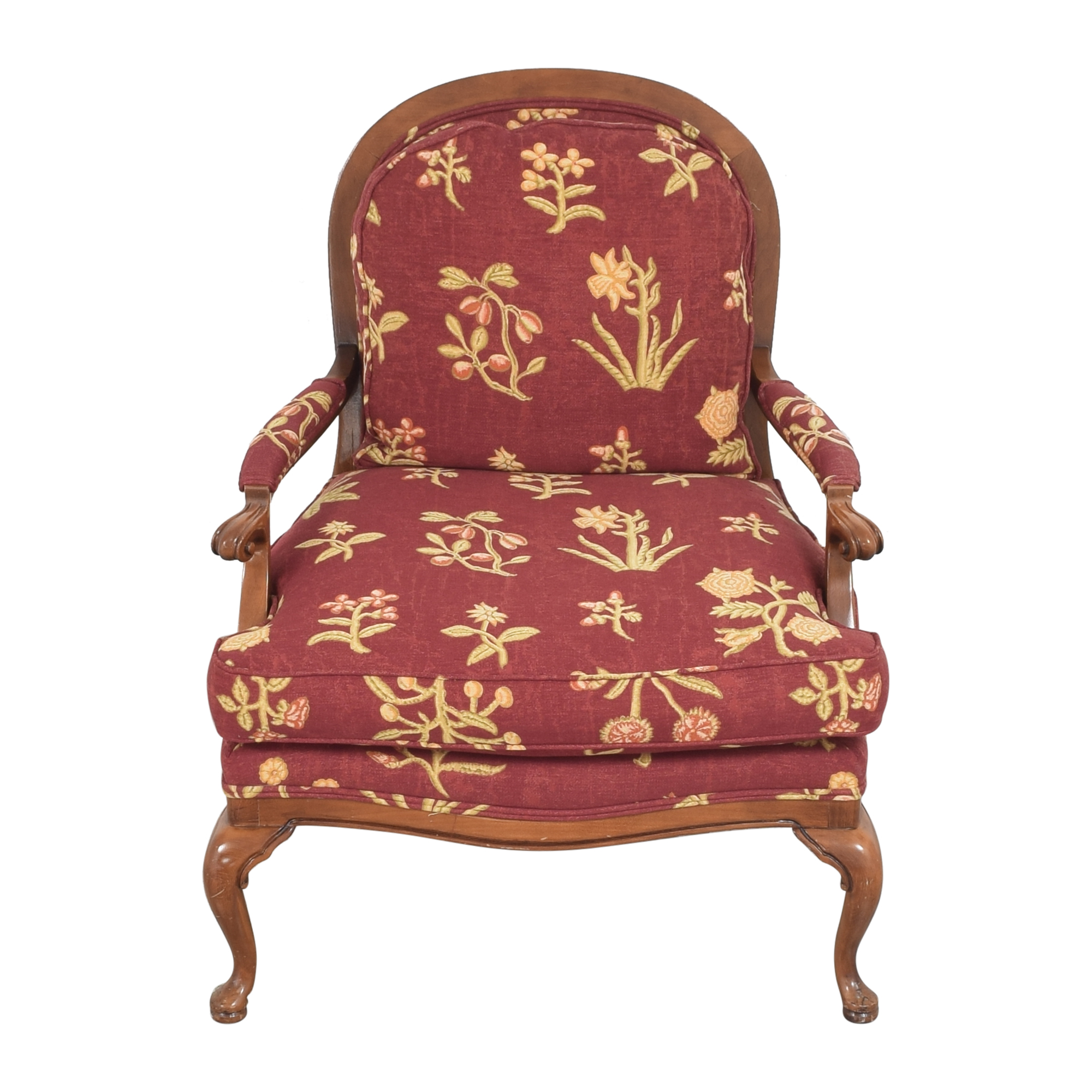 buy Cushioned Accent Chair  Chairs