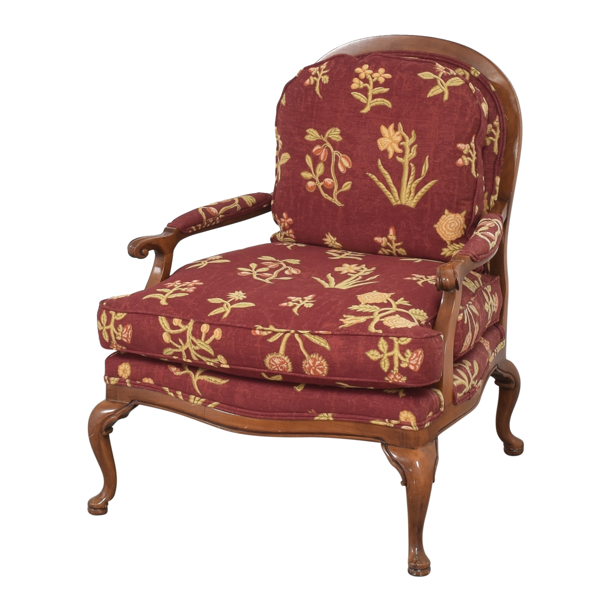 Cushioned Accent Chair