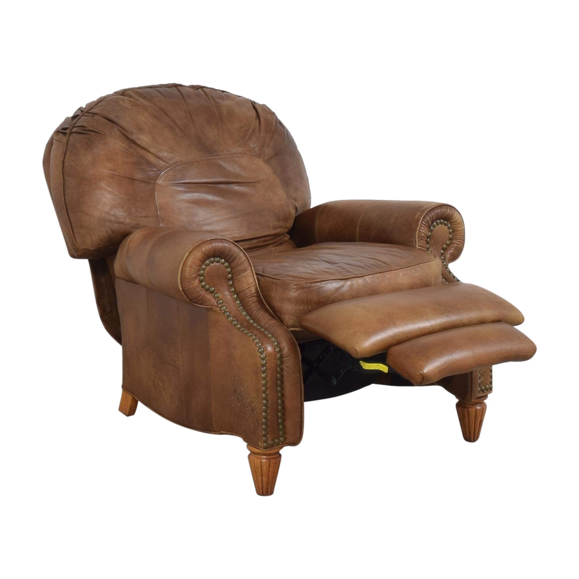 Thomasville Thomasville Leather Morgan Recliner brown