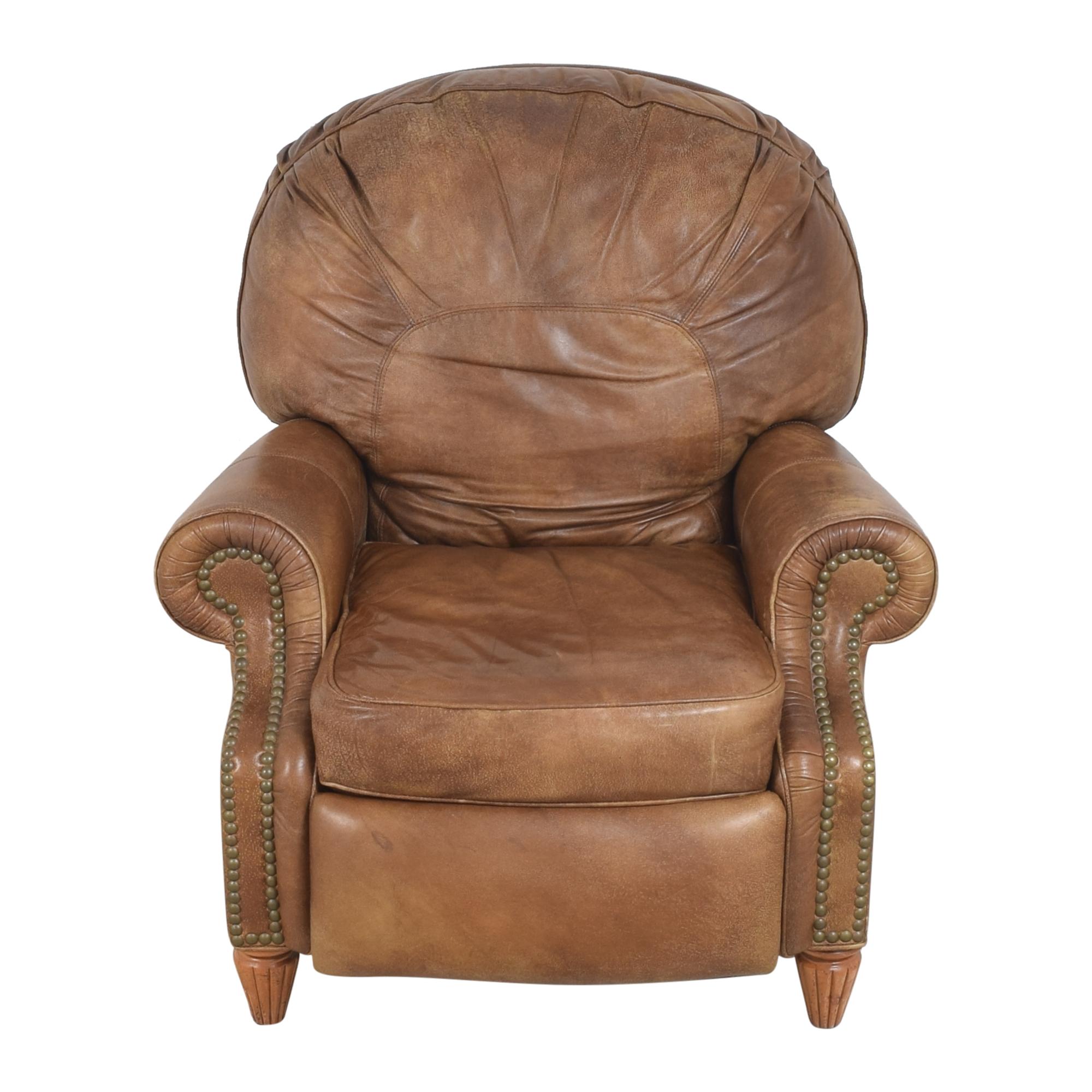 buy Thomasville Leather Morgan Recliner Thomasville