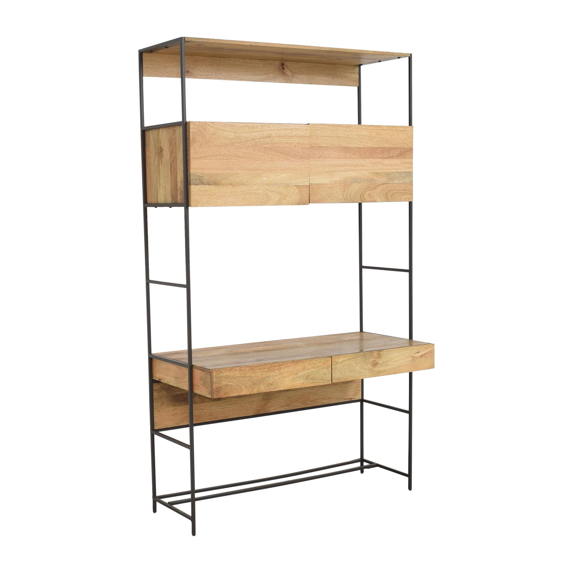 West Elm Industrial Modular Desk sale