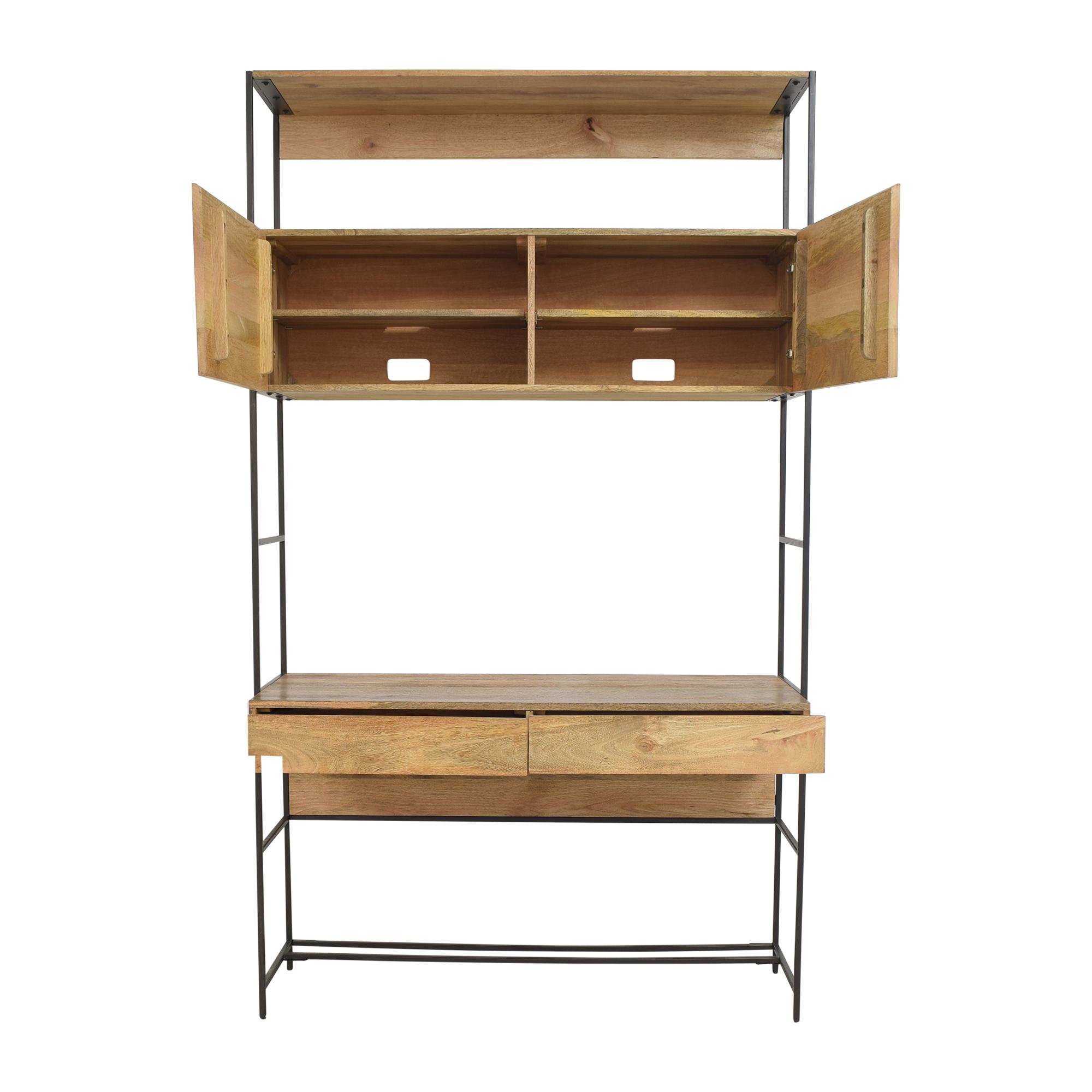 shop West Elm Industrial Modular Desk West Elm Home Office Desks
