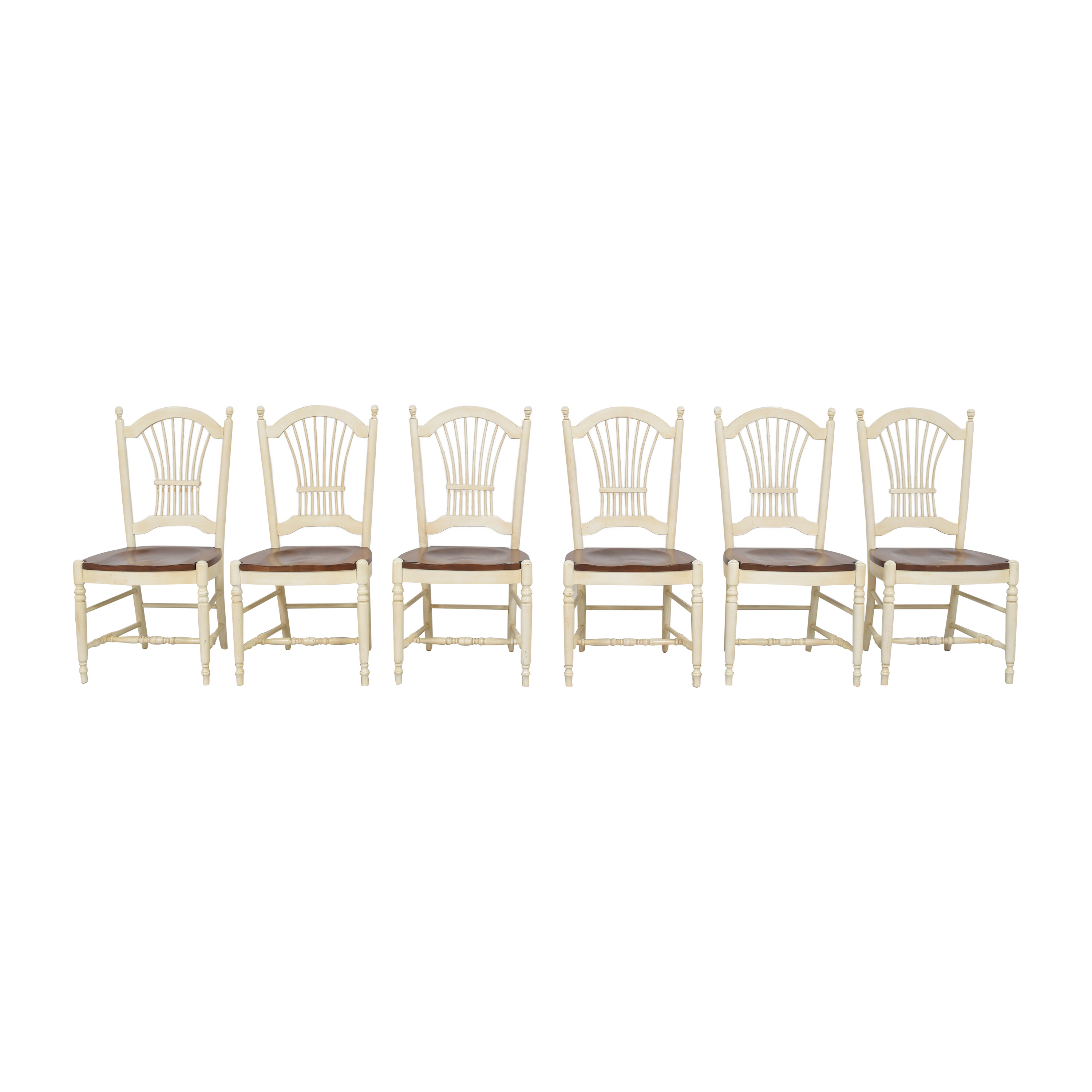 buy Ethan Allen Country French Dining Chairs Ethan Allen