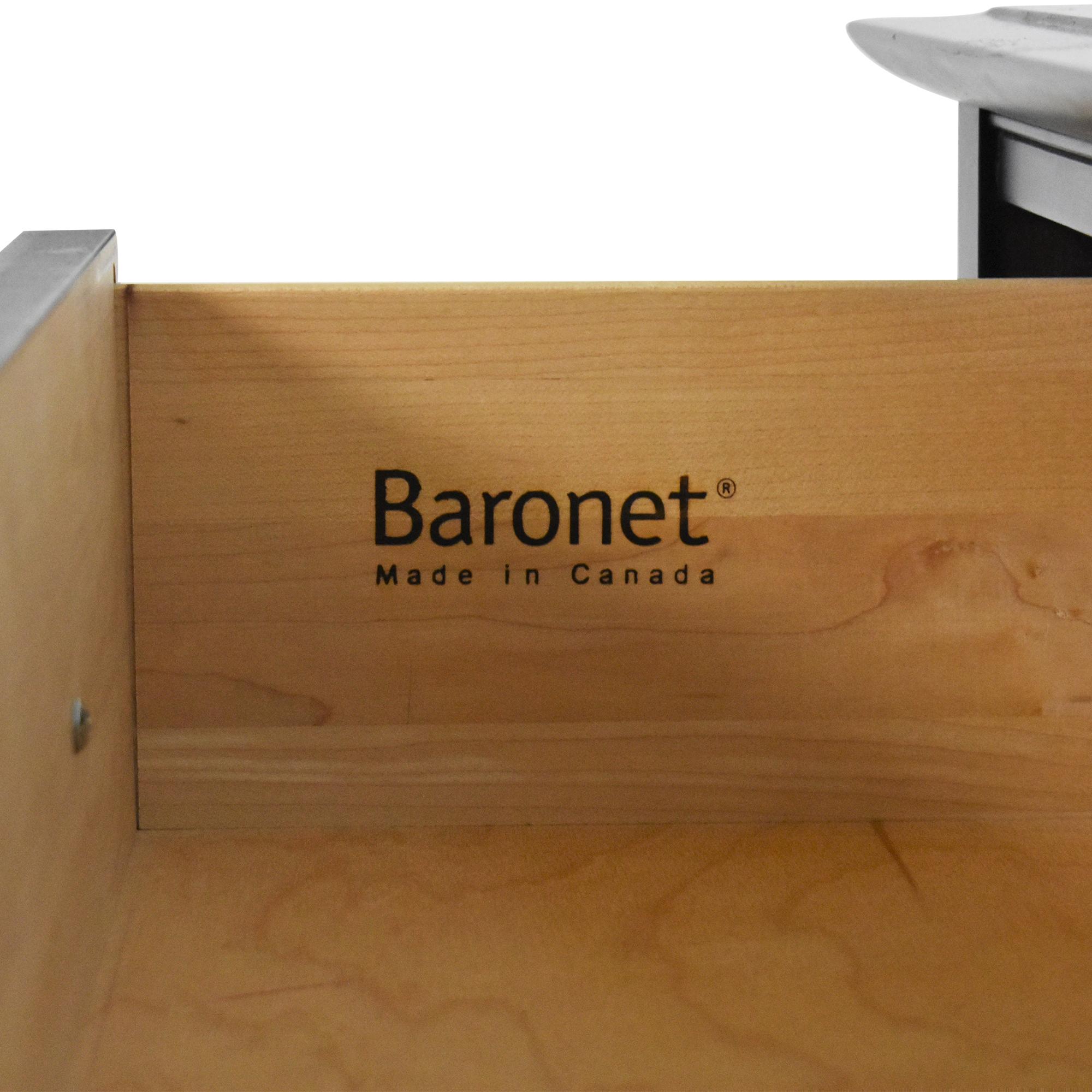 Baronet Baronet Five Drawer Tall Dresser nj