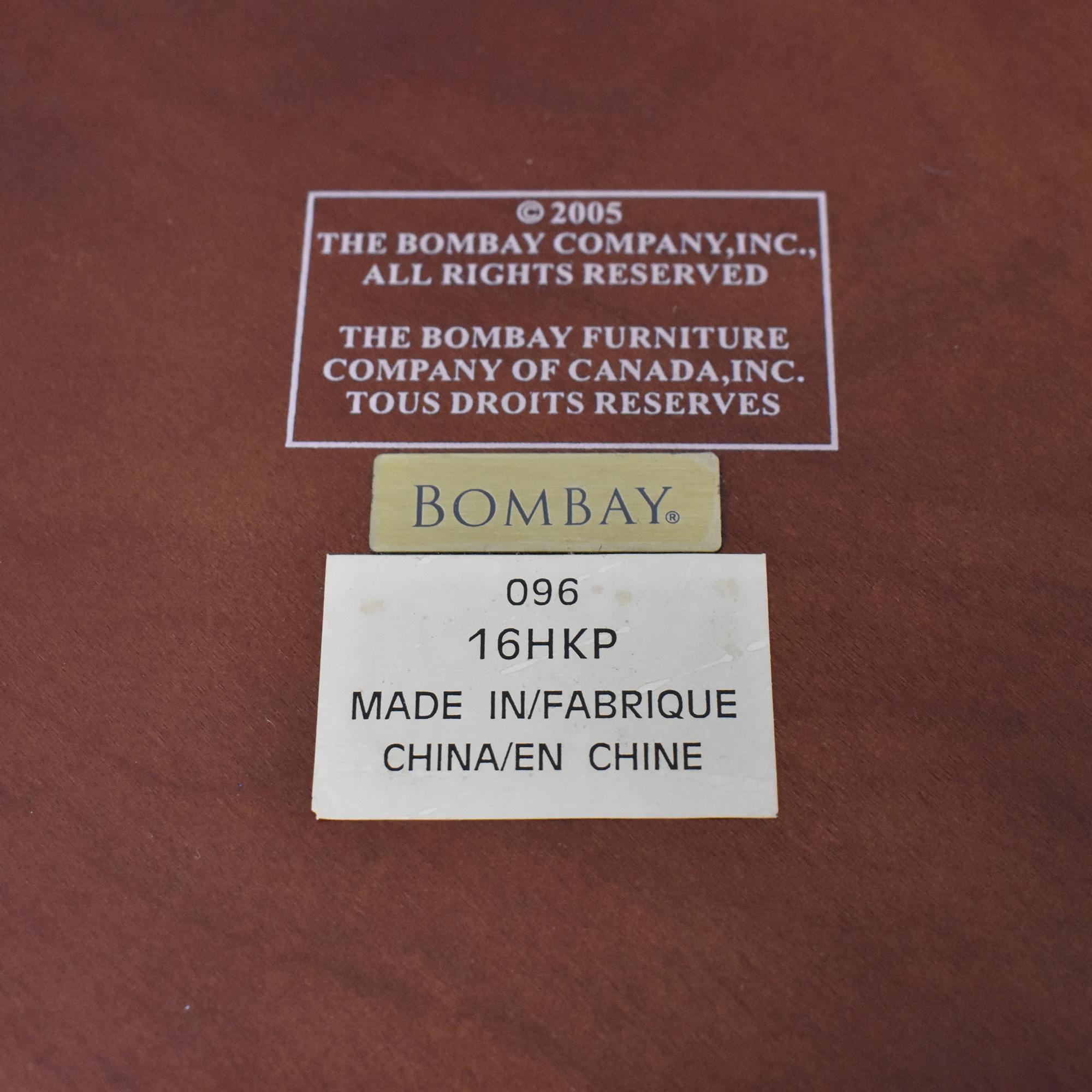 Bombay Company Octagonal Accent Table sale